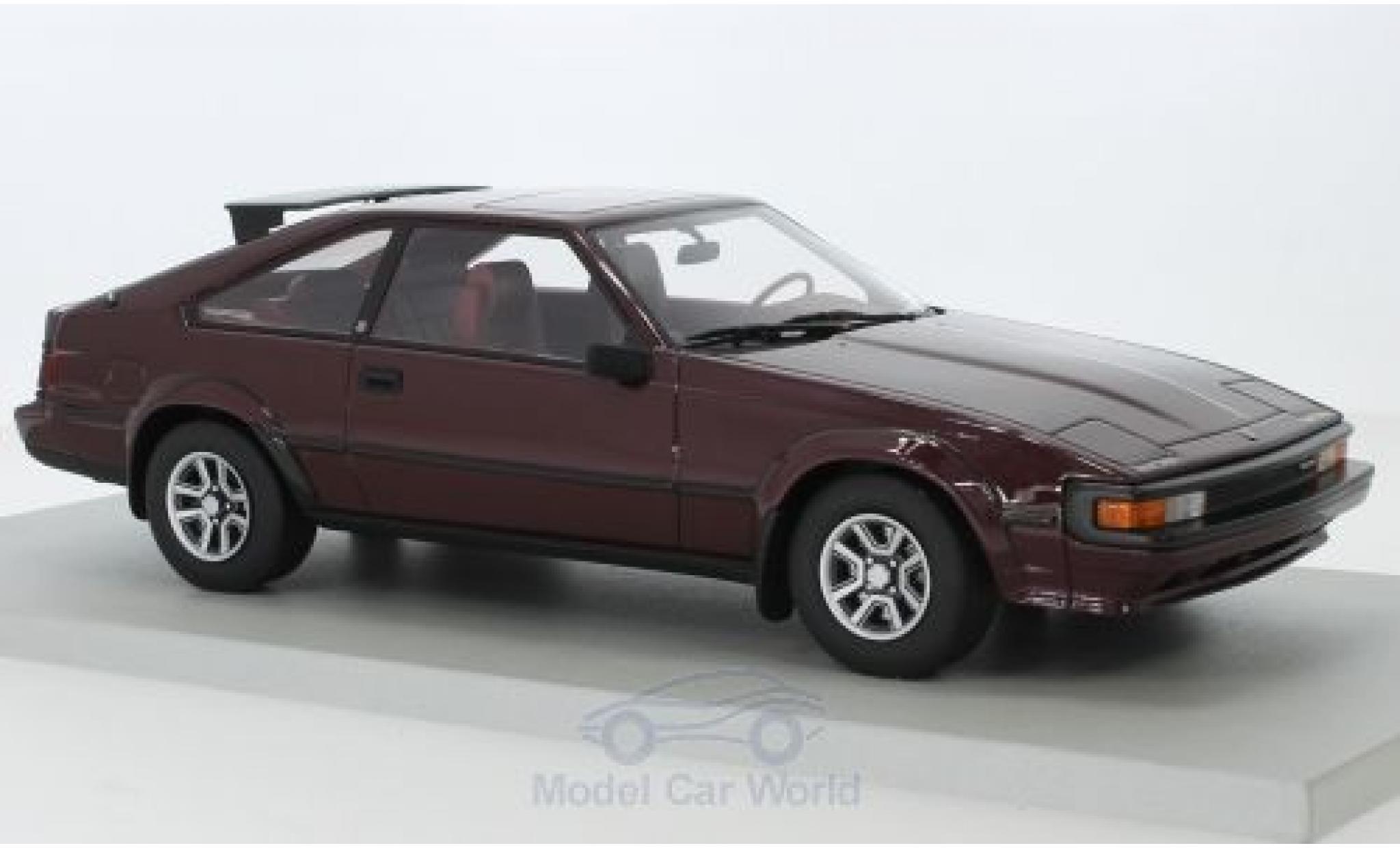 Toyota Celica 1/18 Lucky Step Models Supra MII red