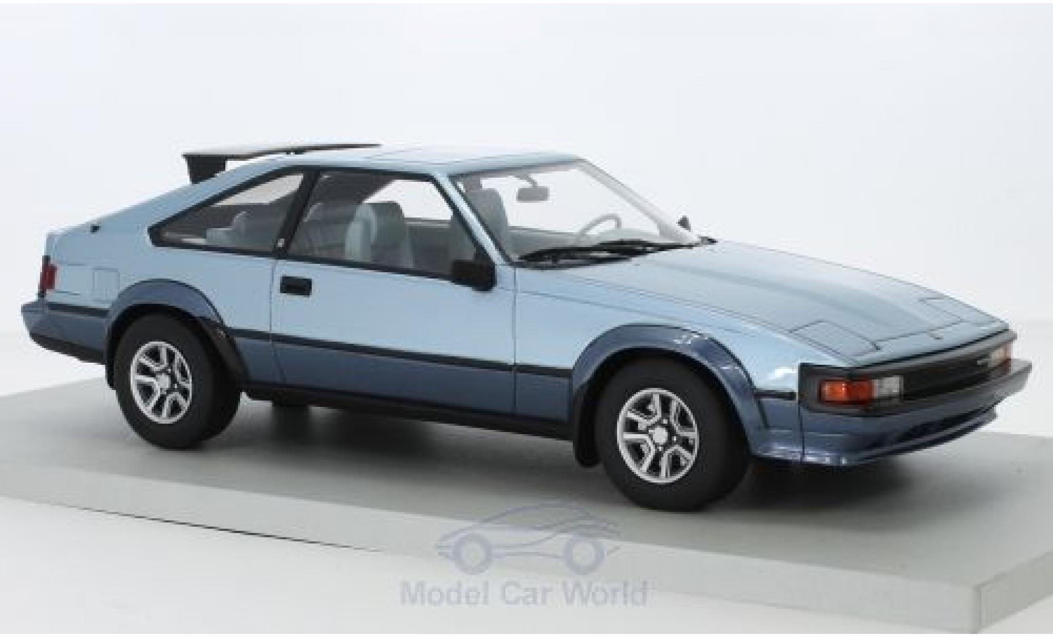 Toyota Celica 1/18 Lucky Step Models Supra MkII mettalic blau/mettalic blau