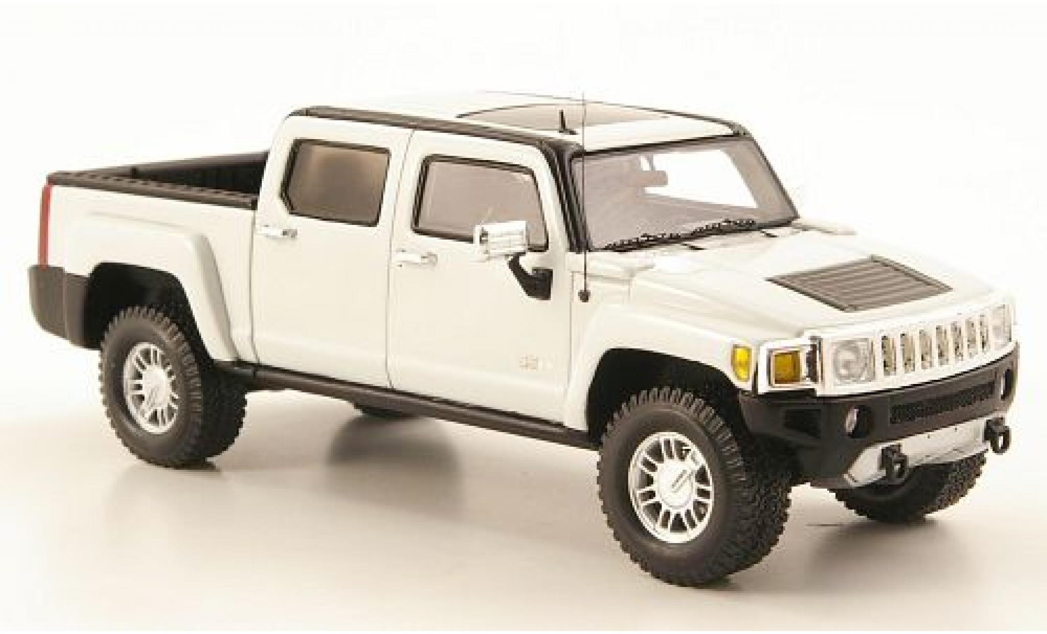 Hummer H3 1/43 Luxury Collectibles T blanche 2008