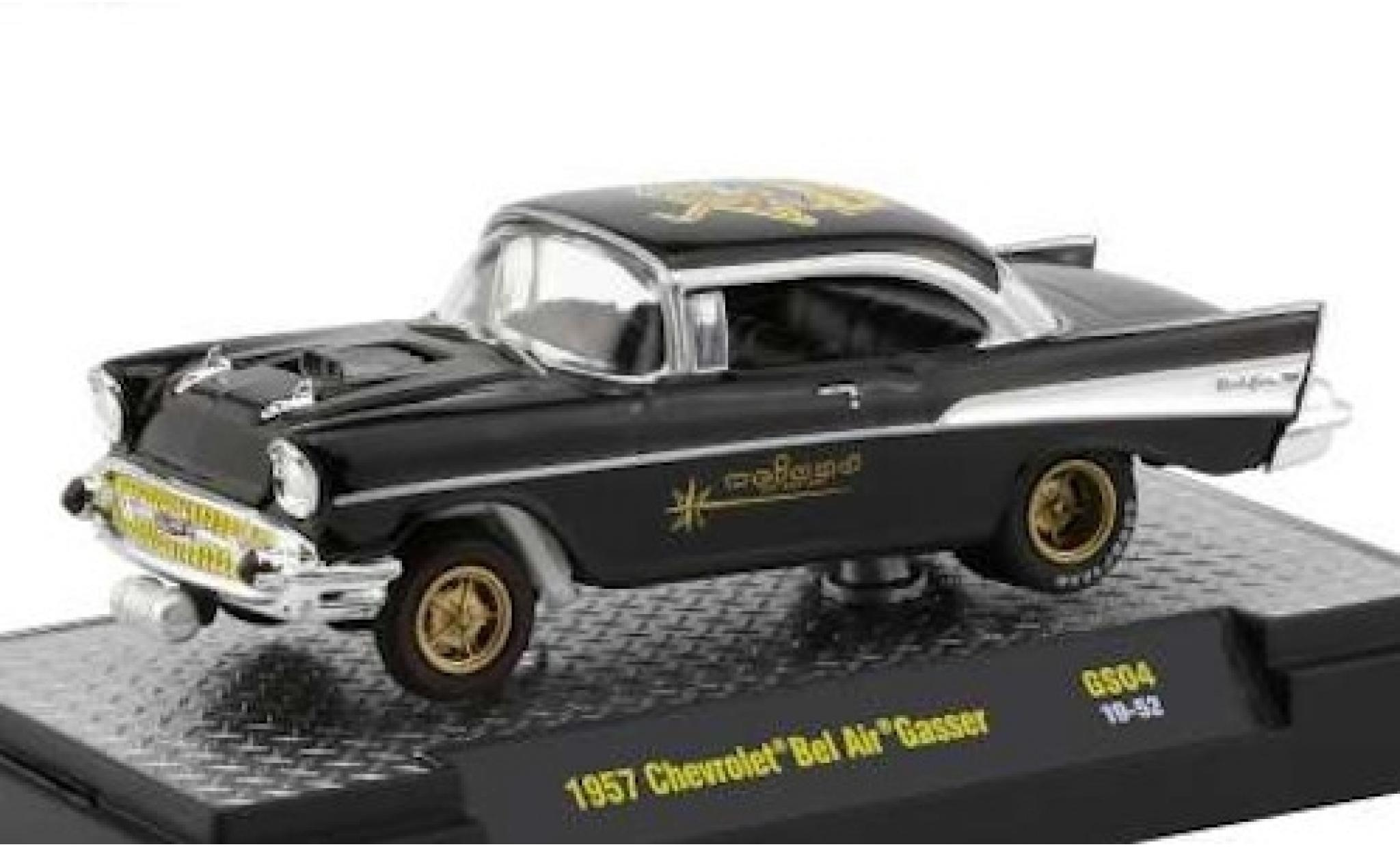 Chevrolet Bel Air 1/64 M2 Machines Gasser Weiand 1957