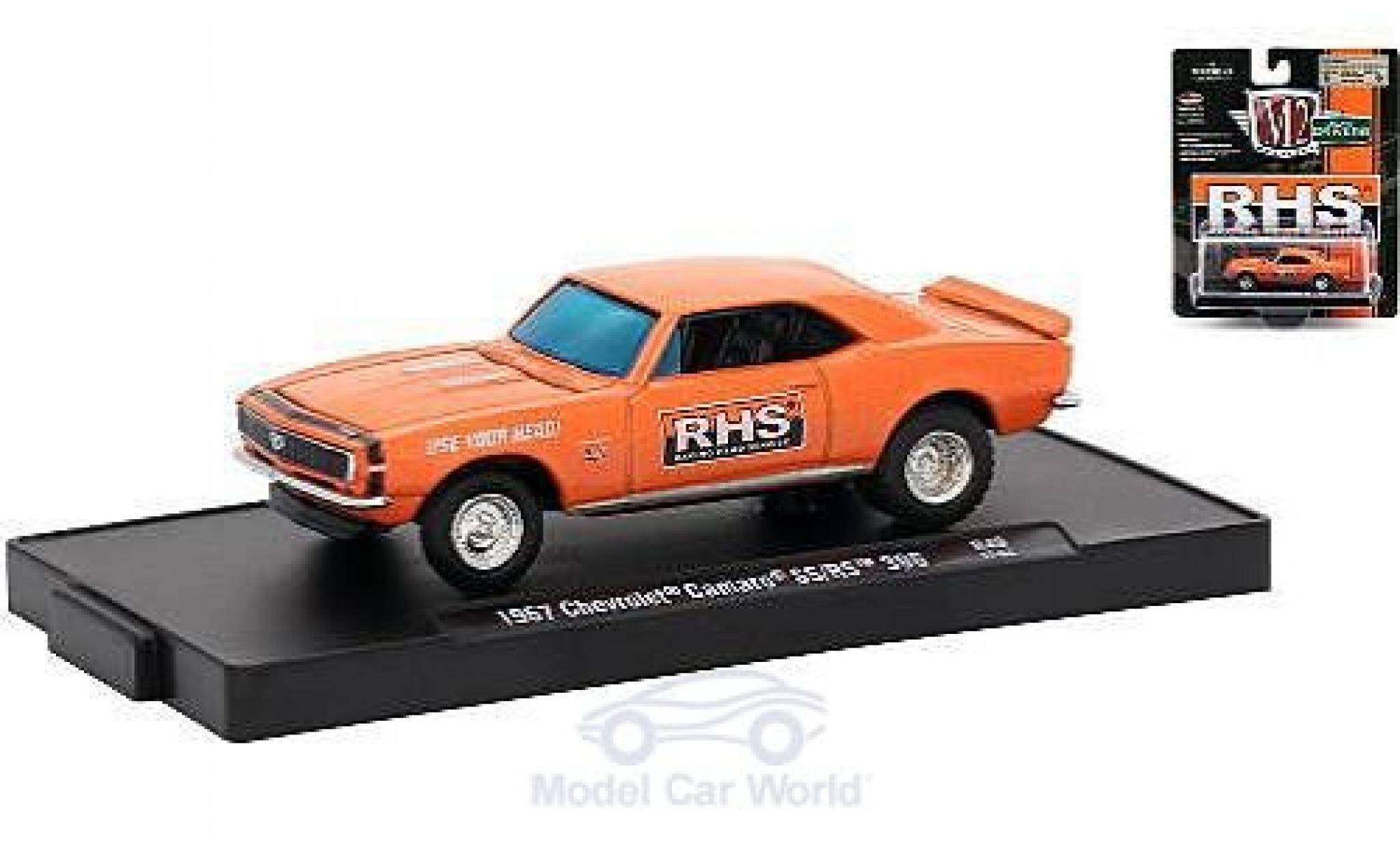 Chevrolet Camaro RS 1/64 M2 Machines SS/ 396 metallise orange Racing Head Service (RHS) 1967