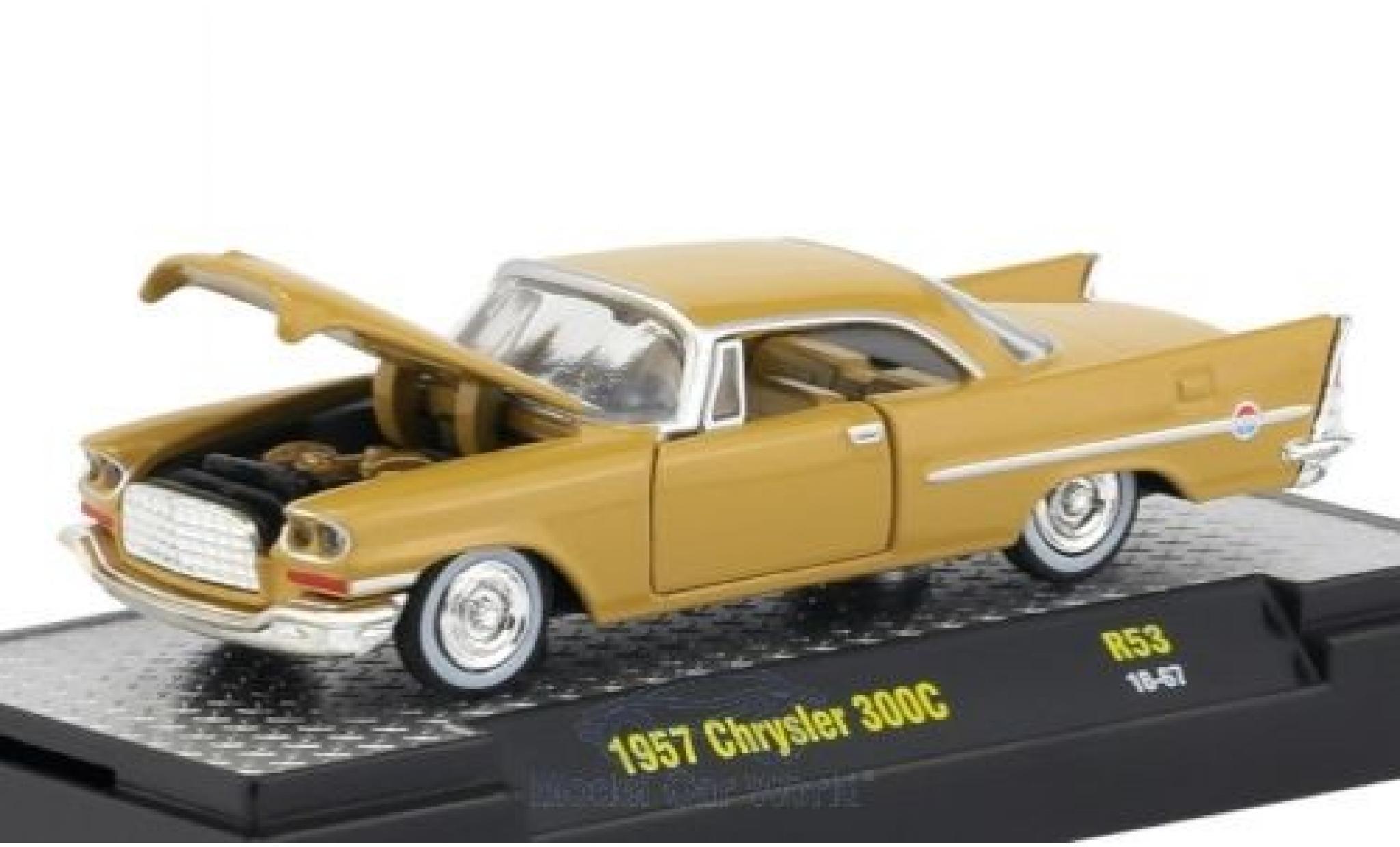 Chrysler 300C 1/18 M2 Machines beige 1957