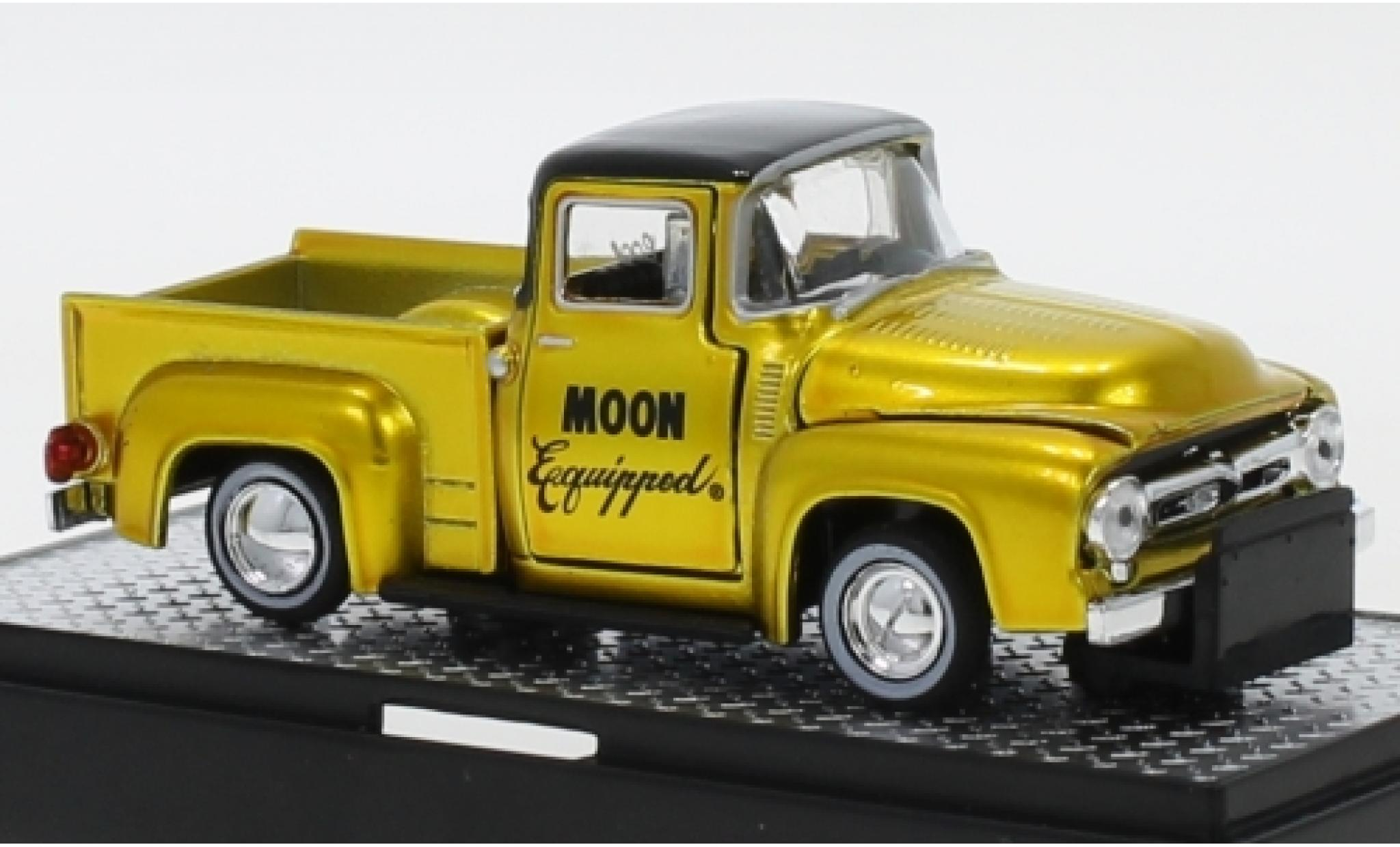 Ford F-1 1/64 M2 Machines 00 Truck Tuning Mooneyes - Moon Equipped 1956