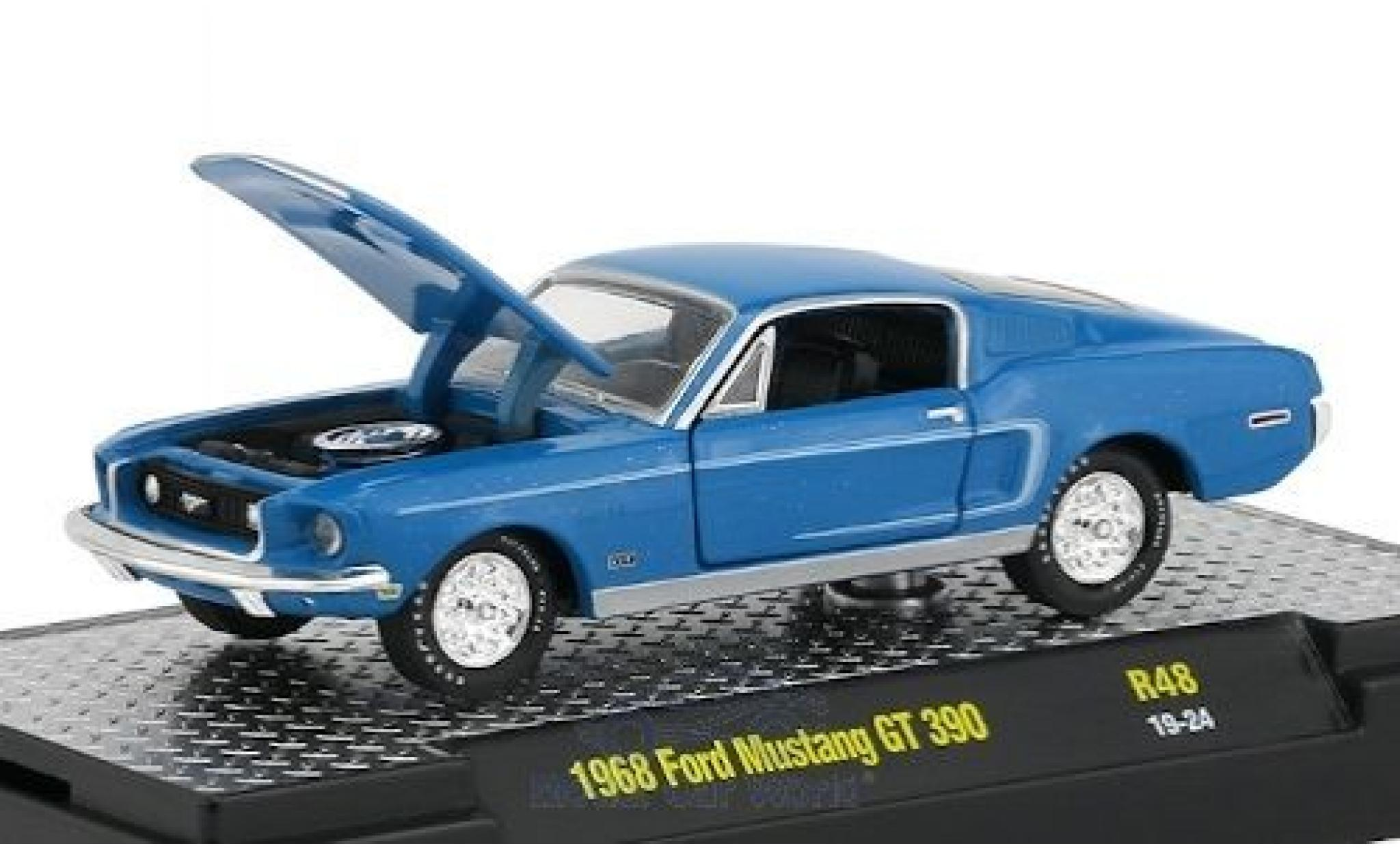 Ford Mustang I 2 génération GT Cobra Jet coupé jaune 1968 1//18 MAISTO Modèle A..