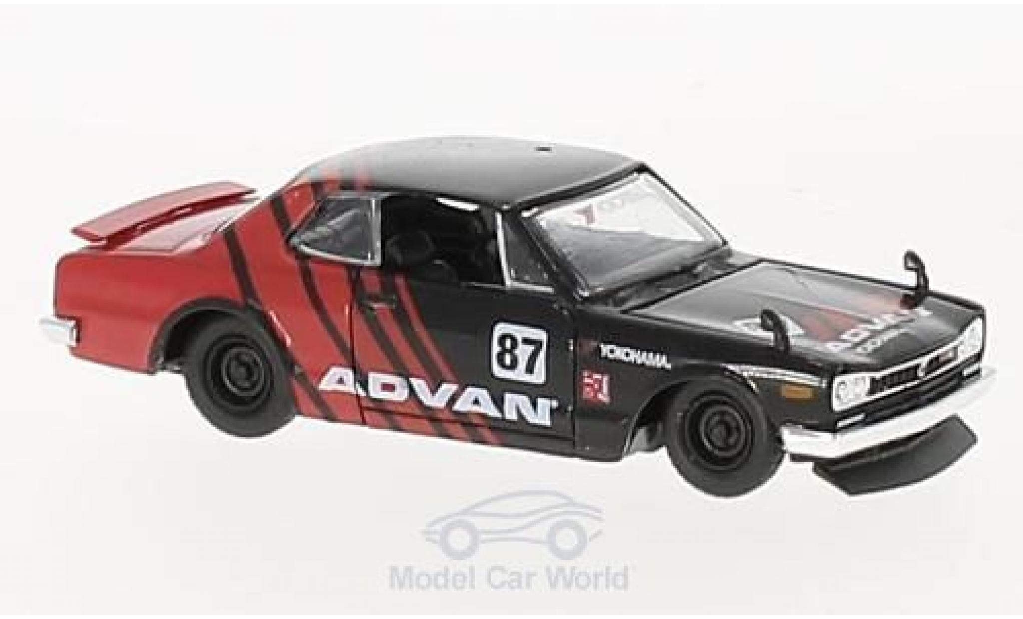 Nissan Skyline 1/64 M2 Machines GT-R No.87 Advan 1971