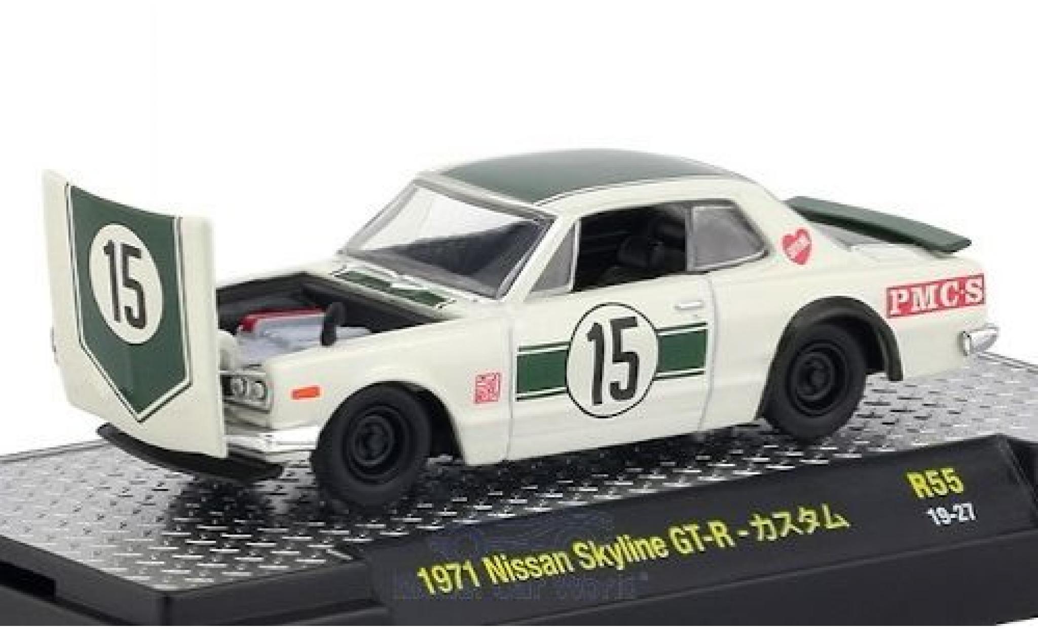 Nissan Skyline 1/64 M2 Machines GT-R RHD No.15 1971