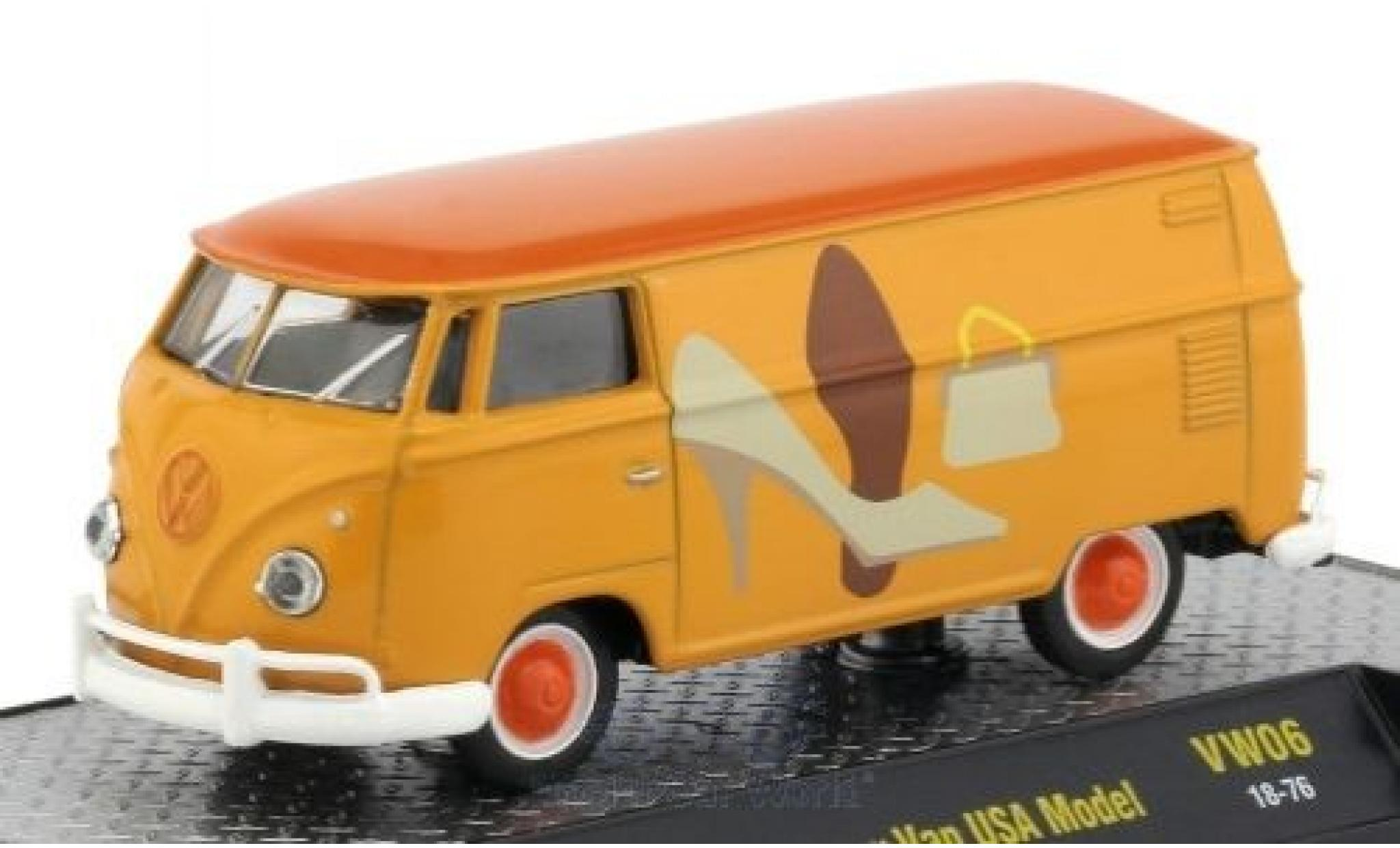 Volkswagen T1 B 1/64 M2 Machines Kastenwagen yellow/Dekor 1960 USA-Version