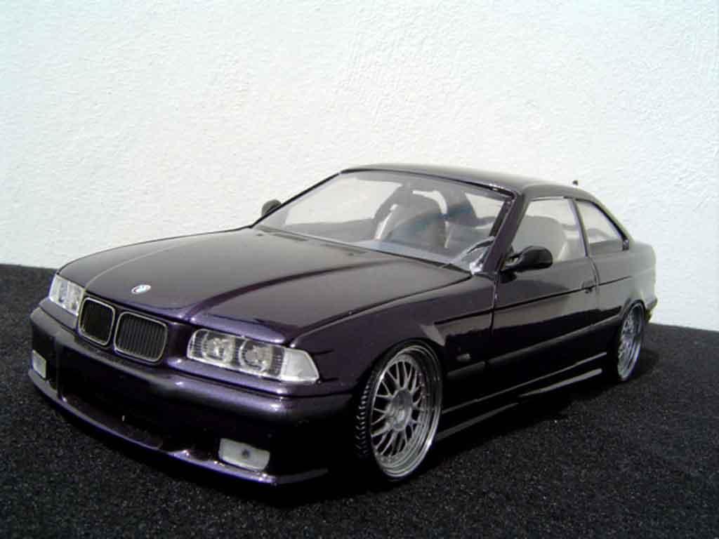 Bmw M3 E36 1/18 Ut Models peinture techno violet