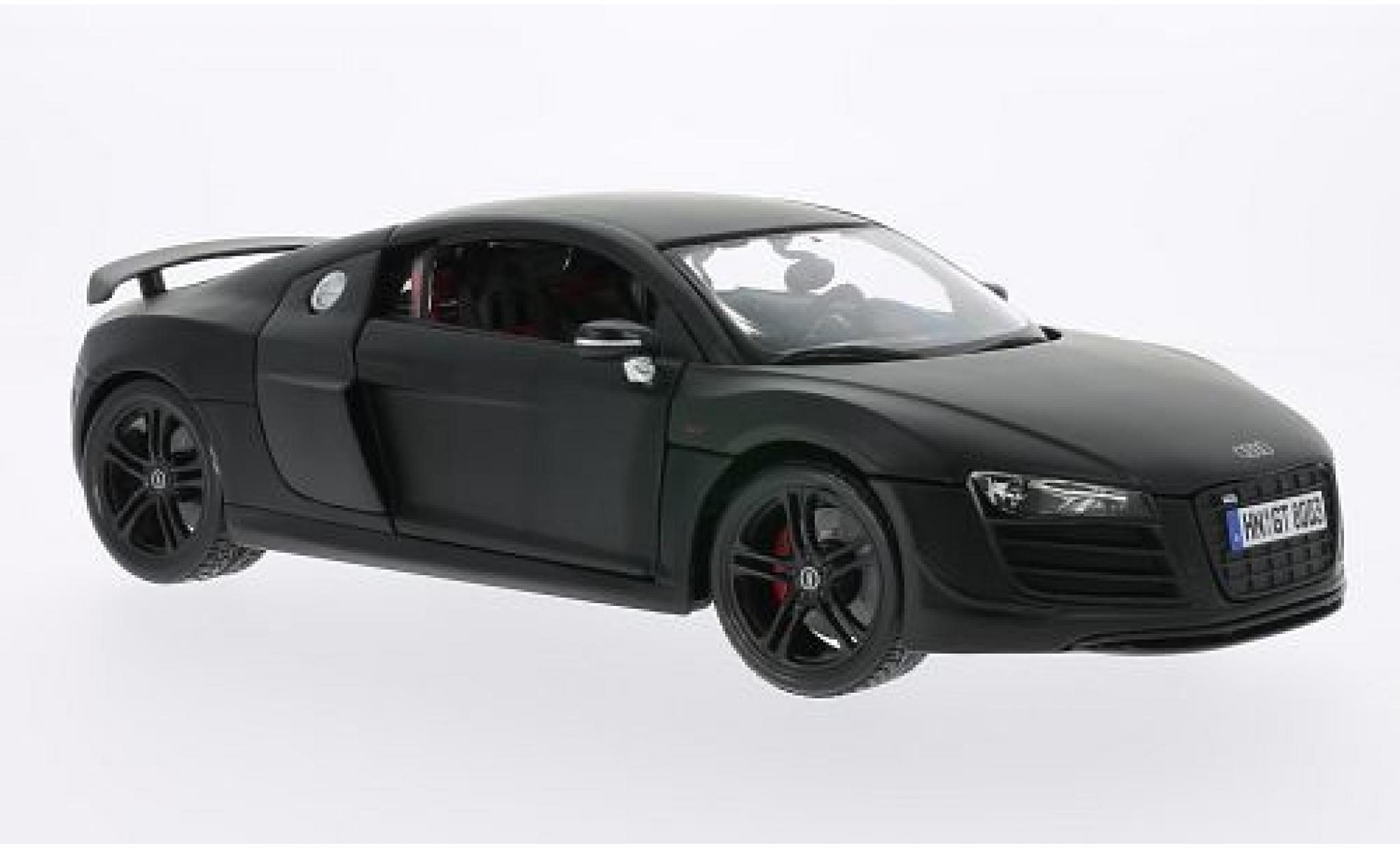 Audi R8 1/18 Maisto GT matt-black