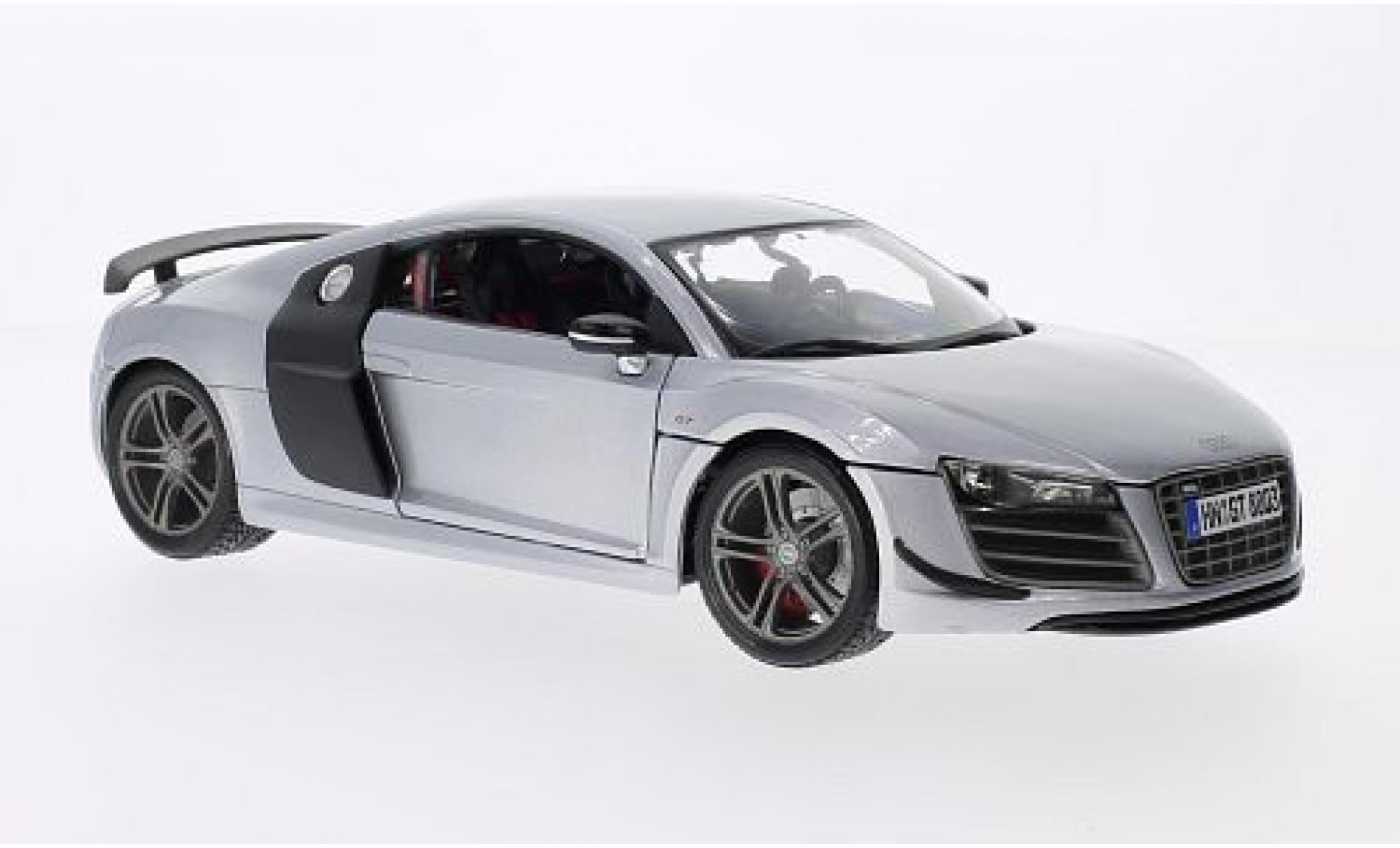 Audi R8 1/18 Maisto GT grise/carbon