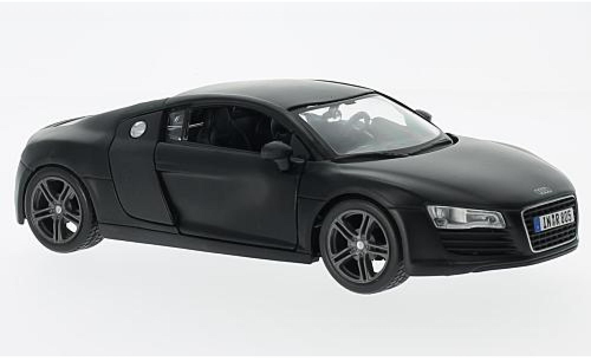 Audi R8 1/24 Maisto matt-noire