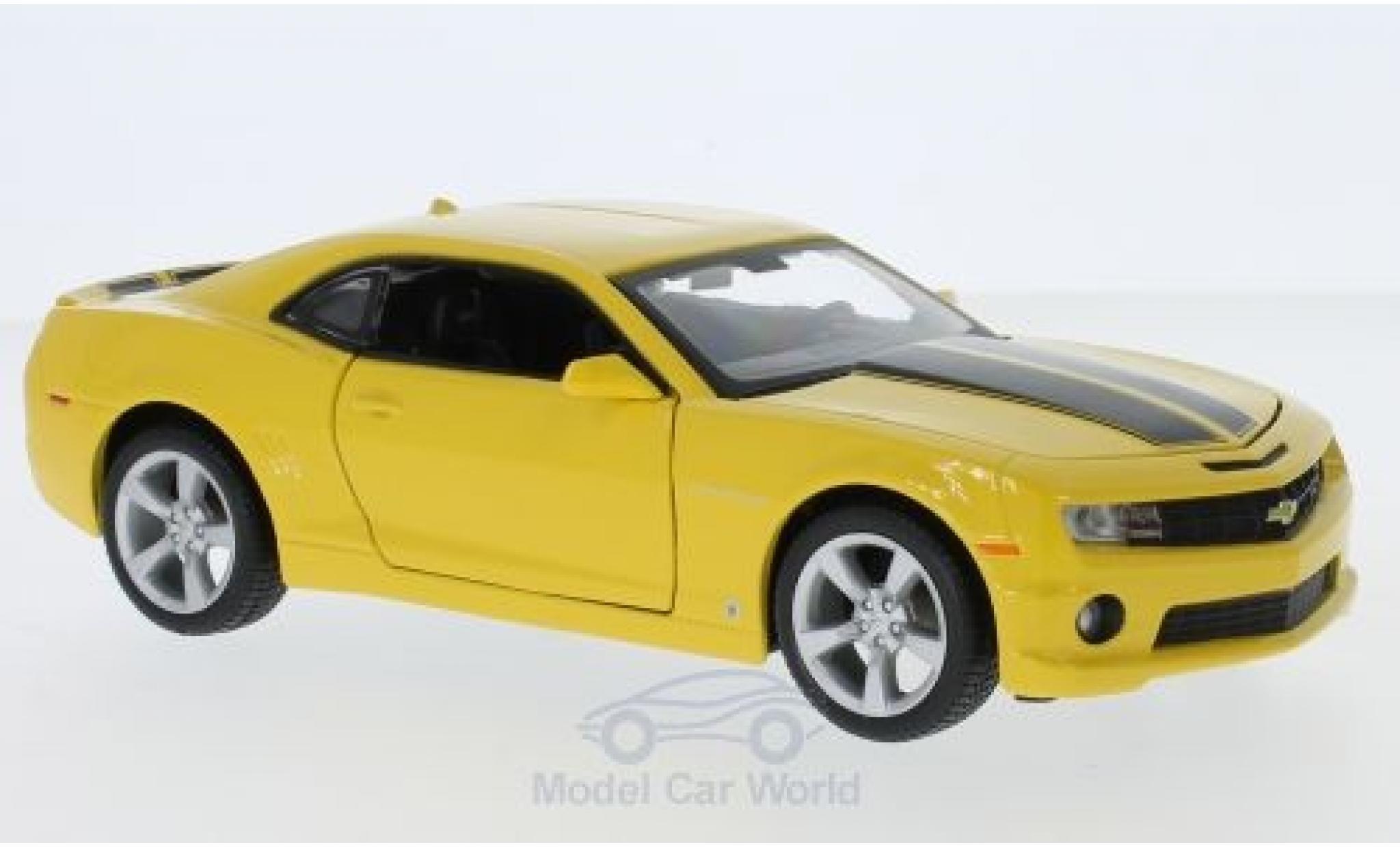 Chevrolet Camaro RS 1/24 Maisto  jaune/noire 2010