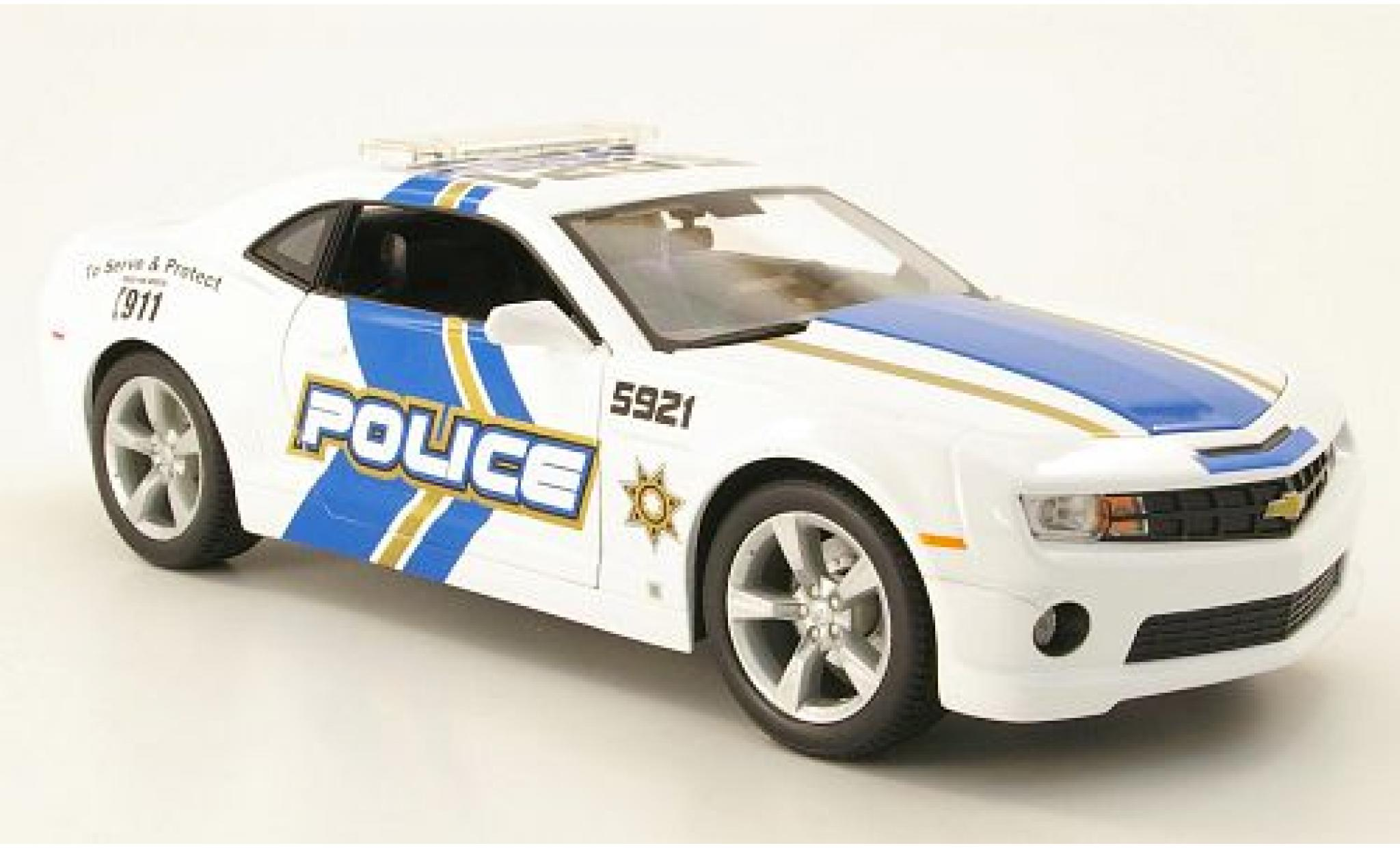 Chevrolet Camaro 1/18 Maisto SS RS Police (USA) 2010