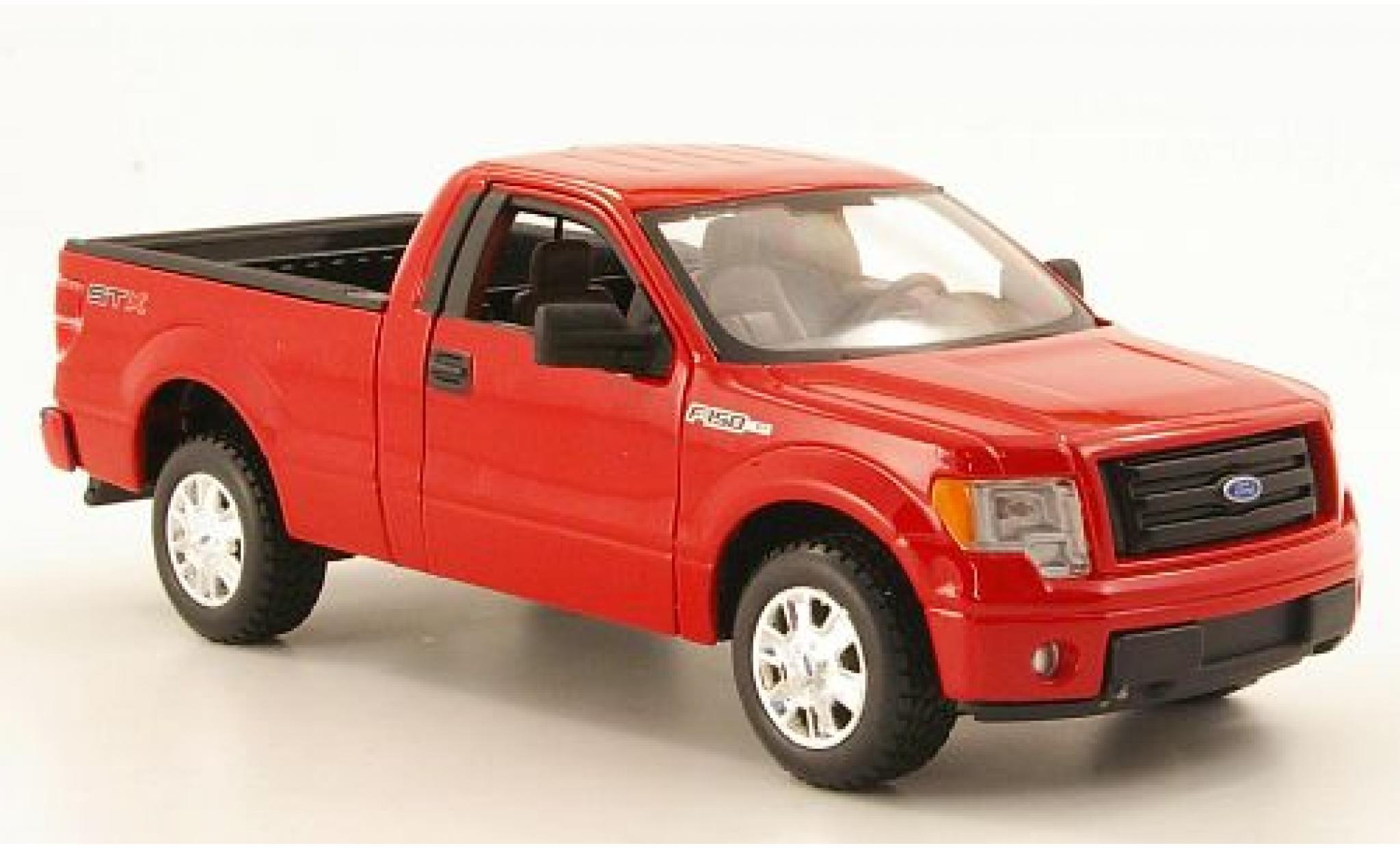 Ford F-1 1/24 Maisto 50 STX rouge 2010 1:27 sans Vitrine