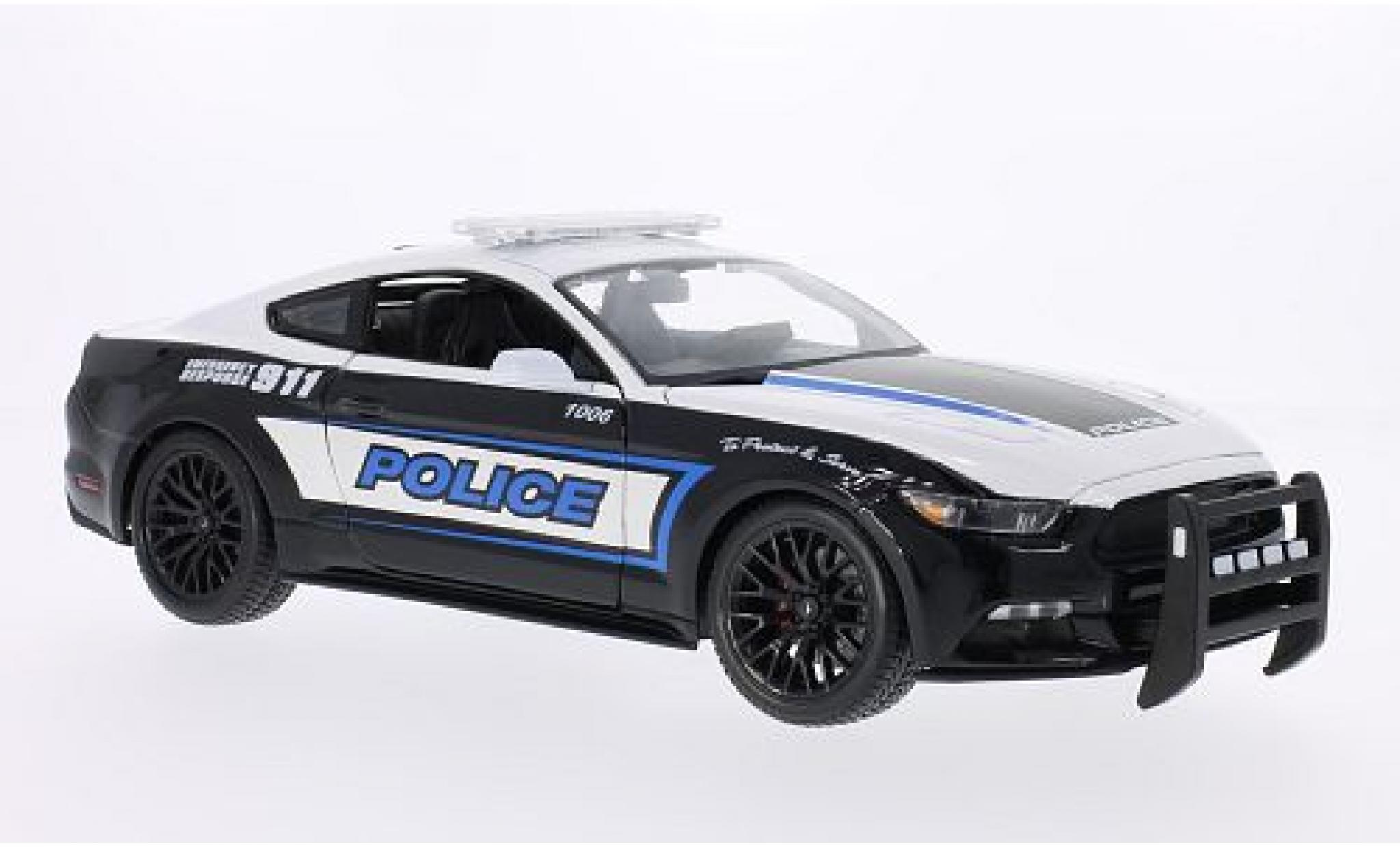 Ford Mustang 1/18 Maisto GT Police 2015