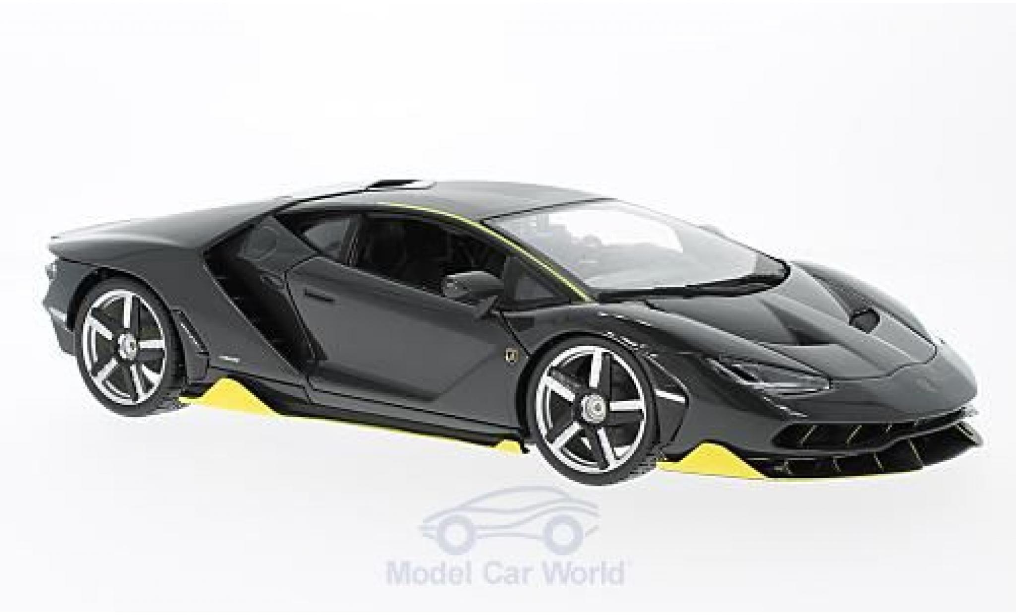 Lamborghini Centenario 1/18 Maisto LP 770-4 grise 2016