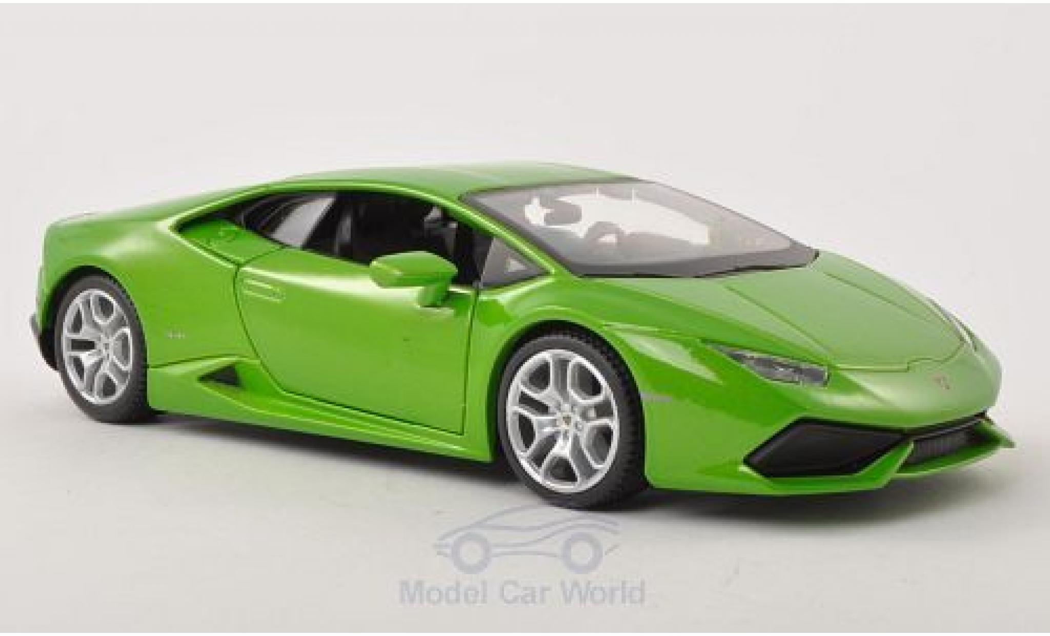 Lamborghini Huracan 1/24 Maisto LP 610-4 hellgrün 2014