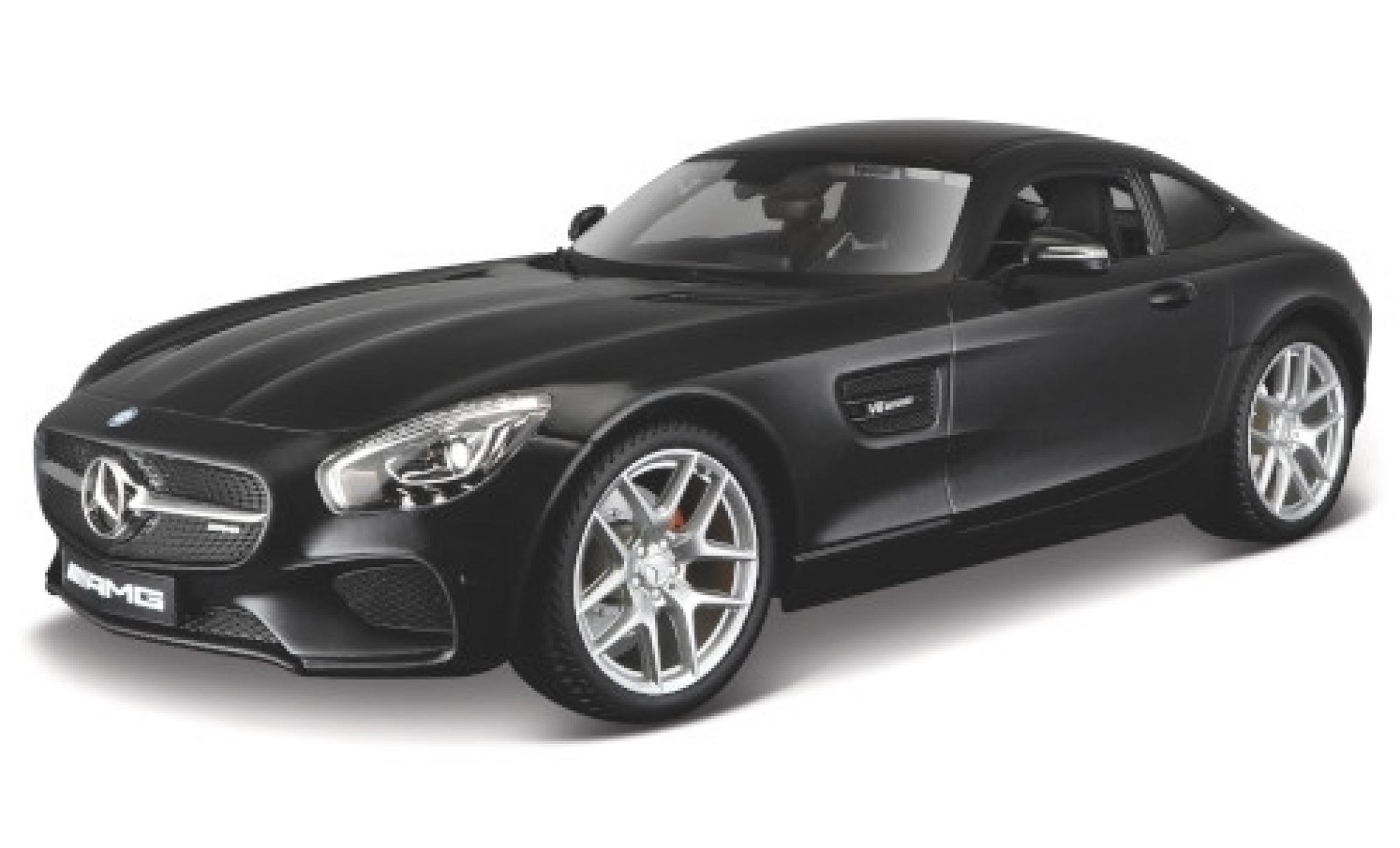 Mercedes AMG GT 1/18 Maisto (C190) metallise noire
