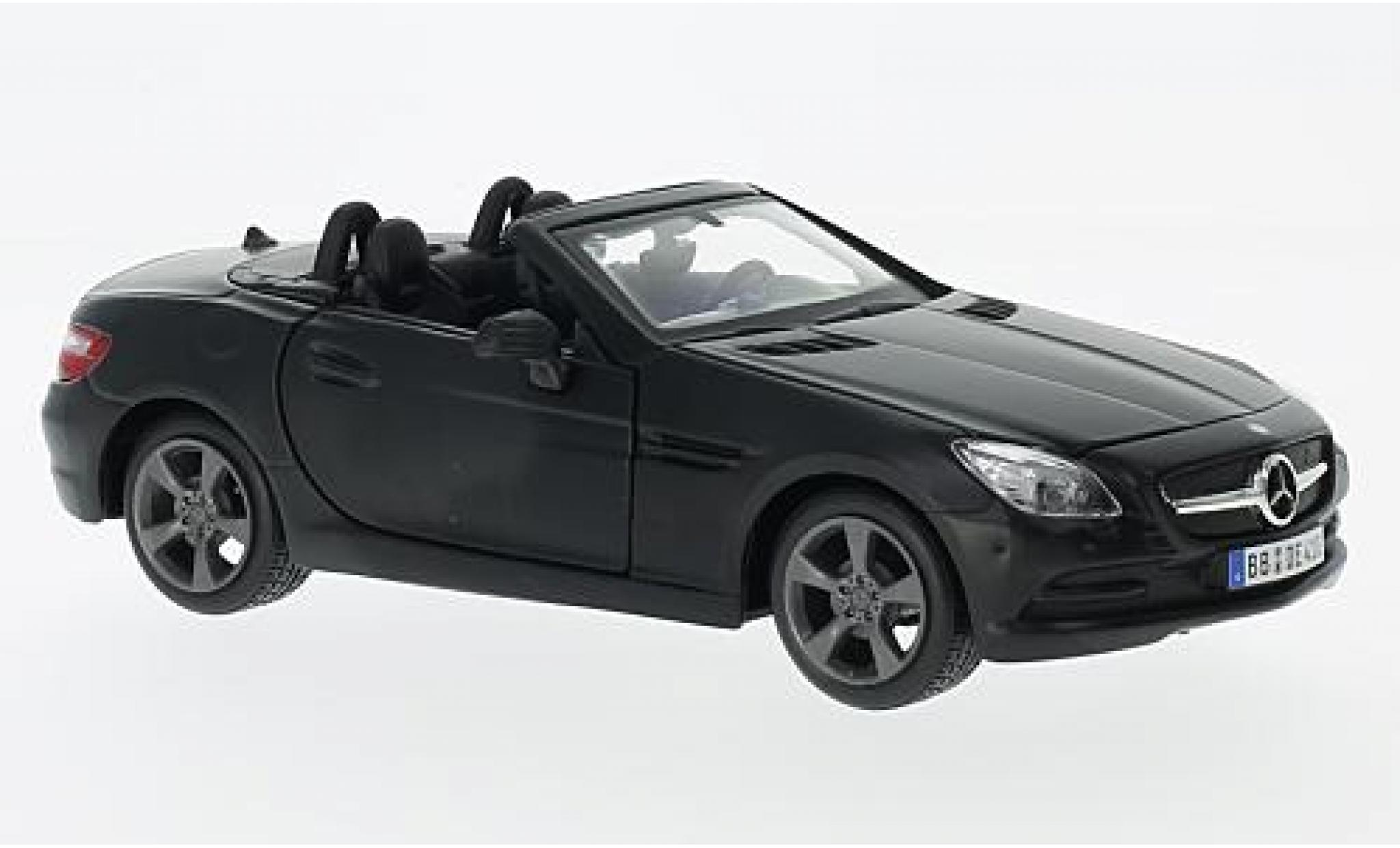 Mercedes Classe SLK 1/24 Maisto SLK-Klasse (R172) matt-black 2011