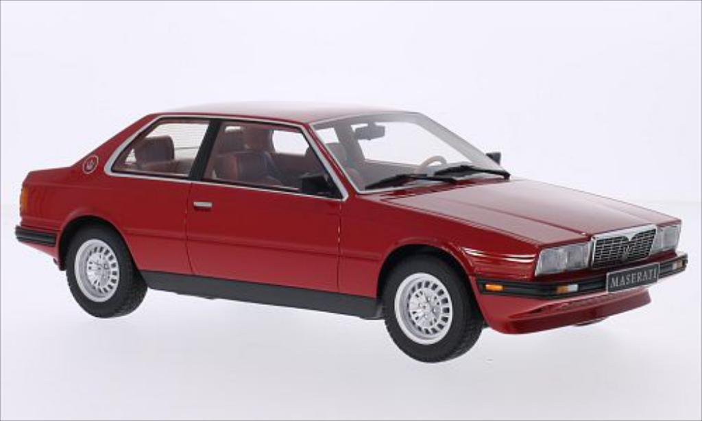 Maserati Biturbo 1/18 Minichamps rouge 1982 miniature