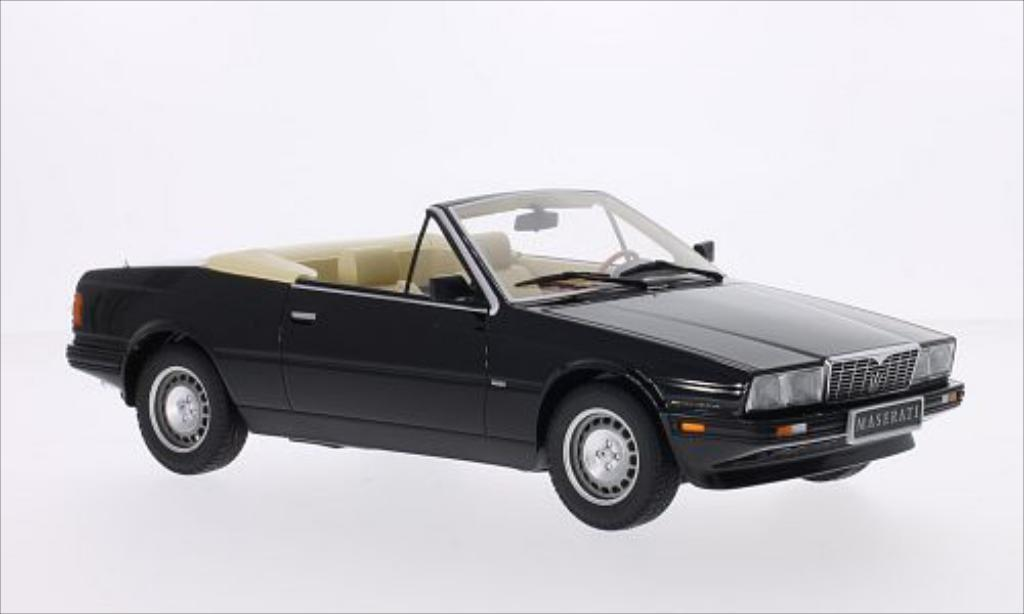 Maserati Biturbo 1/18 Minichamps Spyder black 1986 diecast model cars