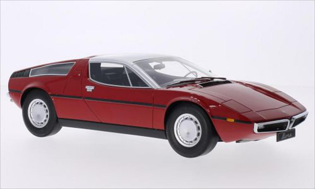 Maserati Bora 1/18 Minichamps red/grey 1970 diecast model cars