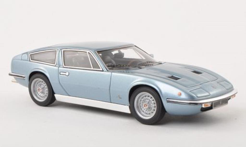 Maserati Indy 1/43 Minichamps bleu 1970 miniature