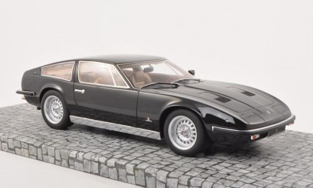 Maserati Indy 1/18 Minichamps noire 1970 miniature