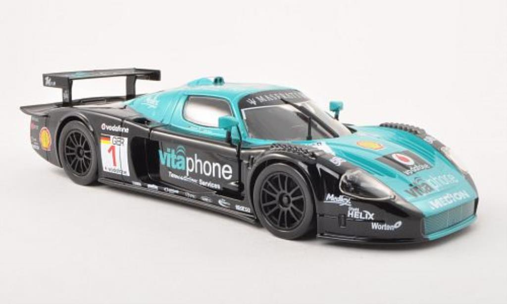 Maserati MC12 1/24 Burago No.1 /A.Bertolini diecast model cars