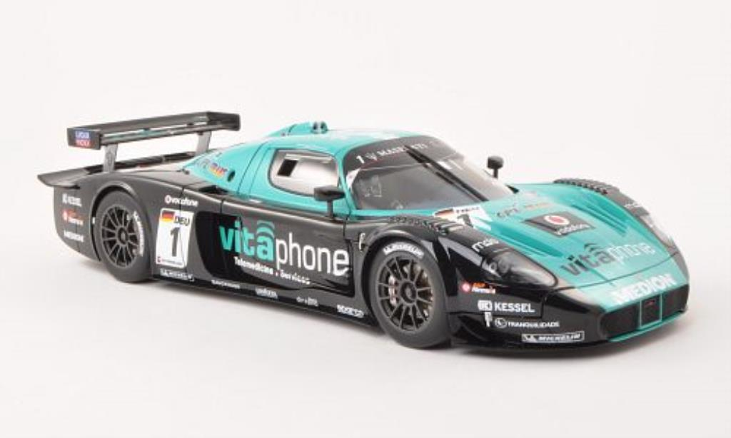 Maserati MC12 1/18 Autoart No.1 Vitaphone Racing Team FIA GT1 2010 /A.Bertolini diecast model cars