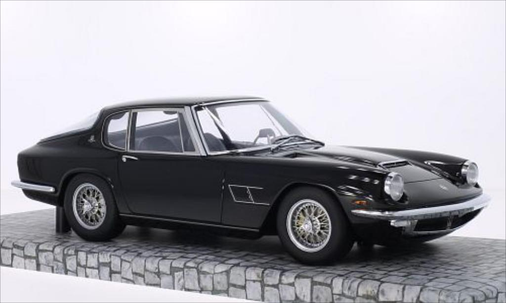 Maserati Mistral 1/18 Minichamps Coupe black 1963 diecast model cars