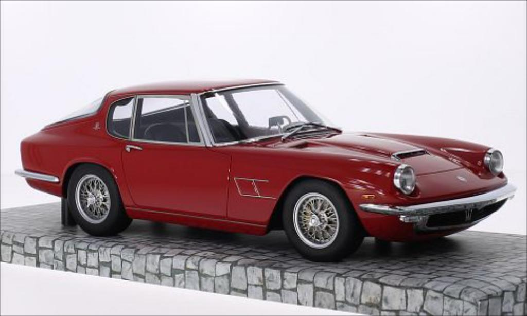 Maserati Mistral 1/18 Minichamps red 1963 diecast model cars