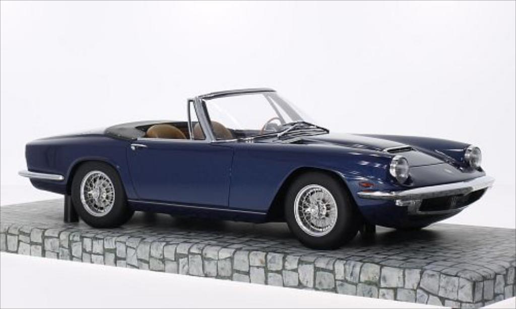 Maserati Mistral Spyder Metallic Dunkelblau Minichamps Rw