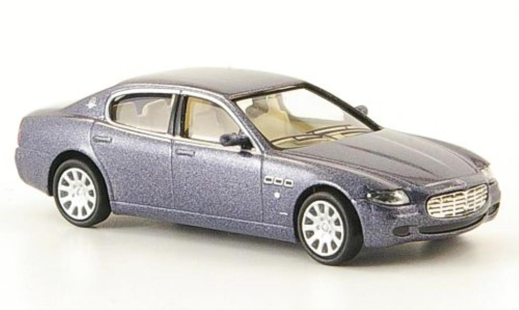 maserati quattroporte blau grau 2003 ricko modellauto 1 87 kaufen verkauf modellauto online. Black Bedroom Furniture Sets. Home Design Ideas