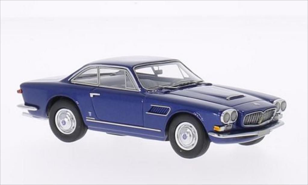 Maserati Sebring 1/43 Neo Serie II metallise bleu miniature
