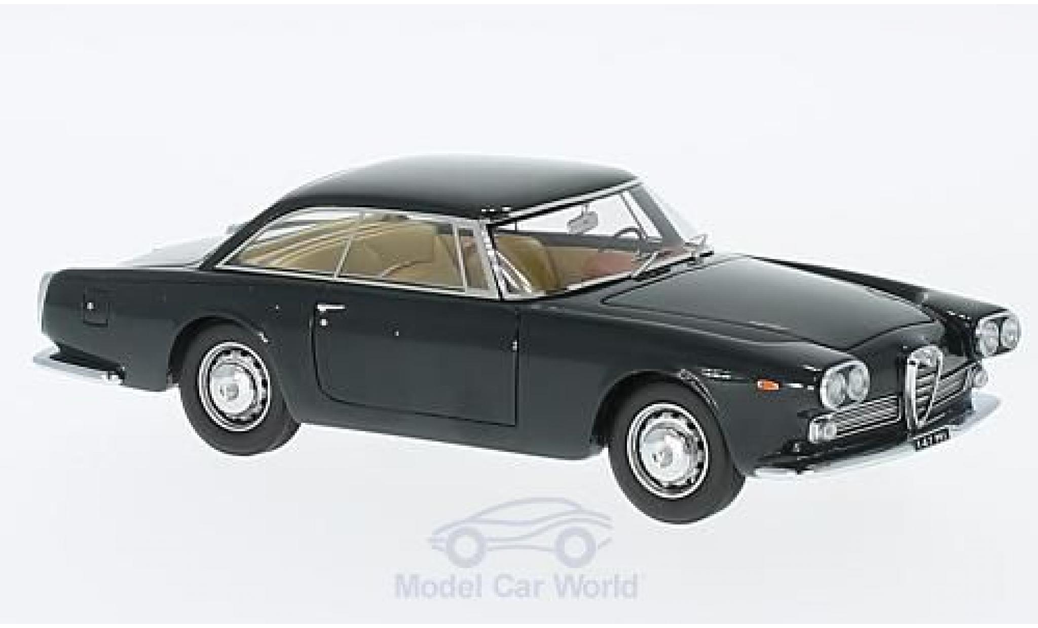 Alfa Romeo 2000 1/43 Matrix Praho Touring metallic-dunkelbleue 1960