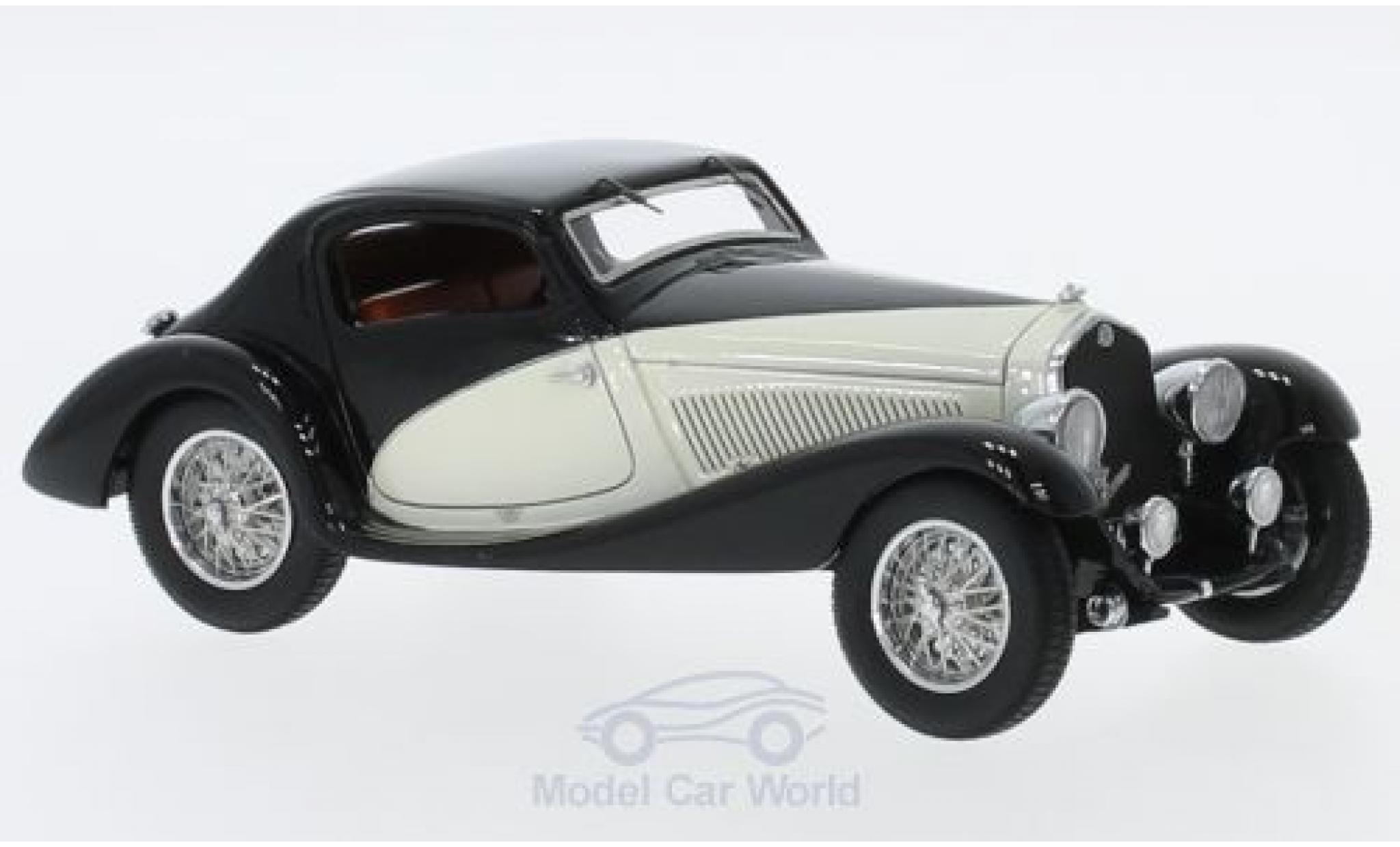 Alfa Romeo 6C 1750 1/43 Matrix GS Figoni Coupe noire/beige RHD 1933