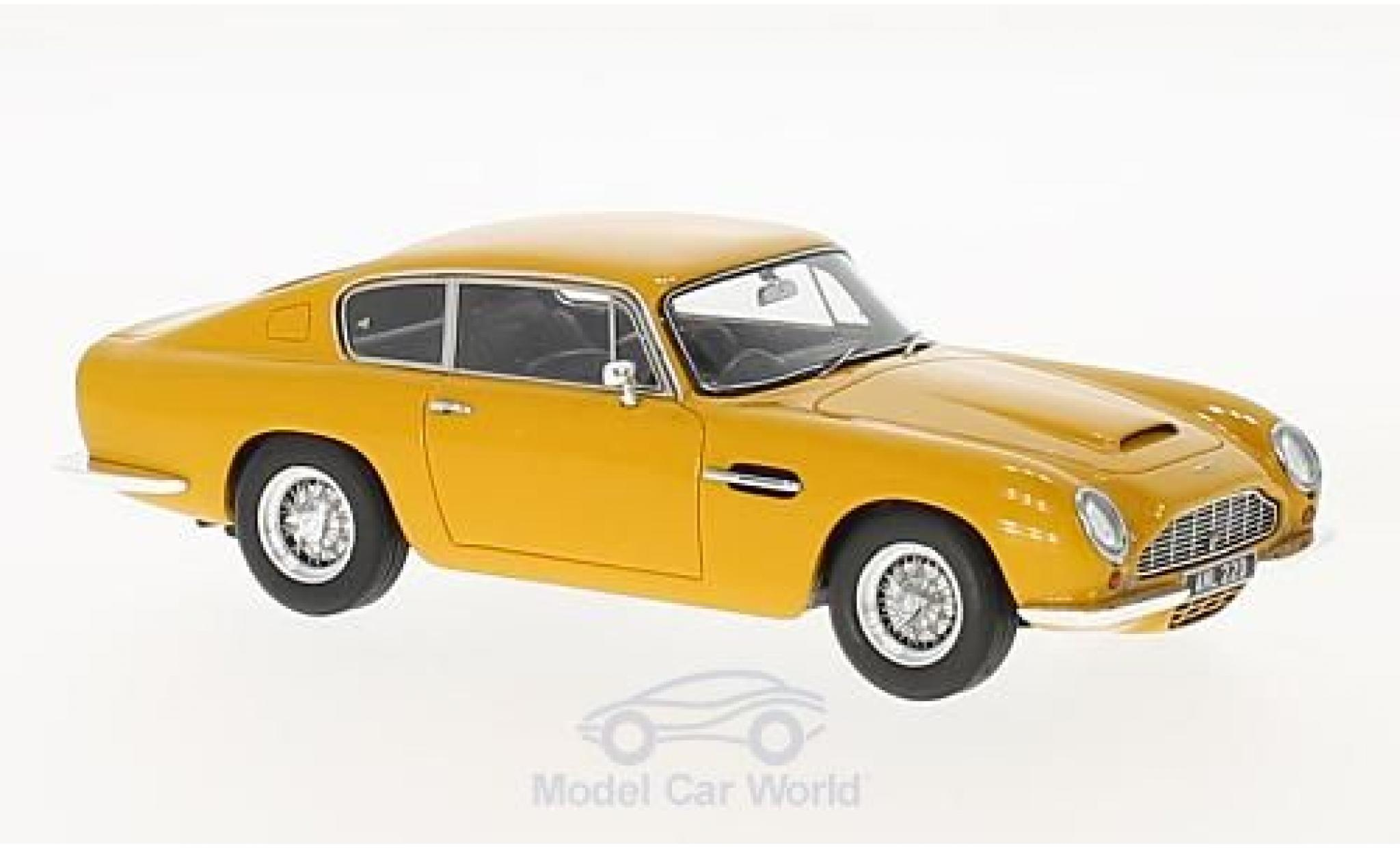 Aston Martin DB6 1/43 Matrix jaune RHD 1965