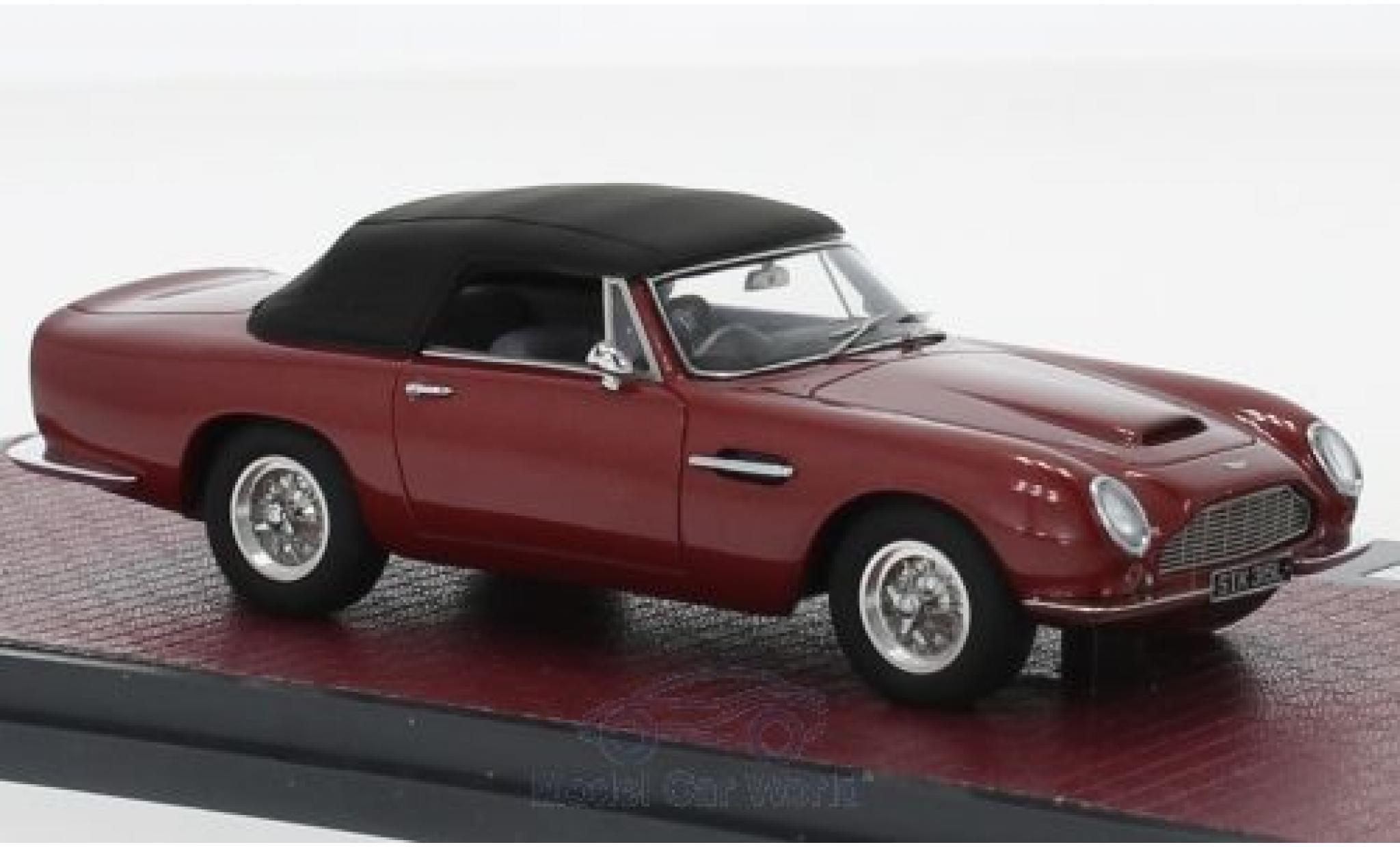 Diecast Model Cars Aston Martin Db6 1 43 Matrix Volante Metallise Red Rhd 1968 Alldiecast Us