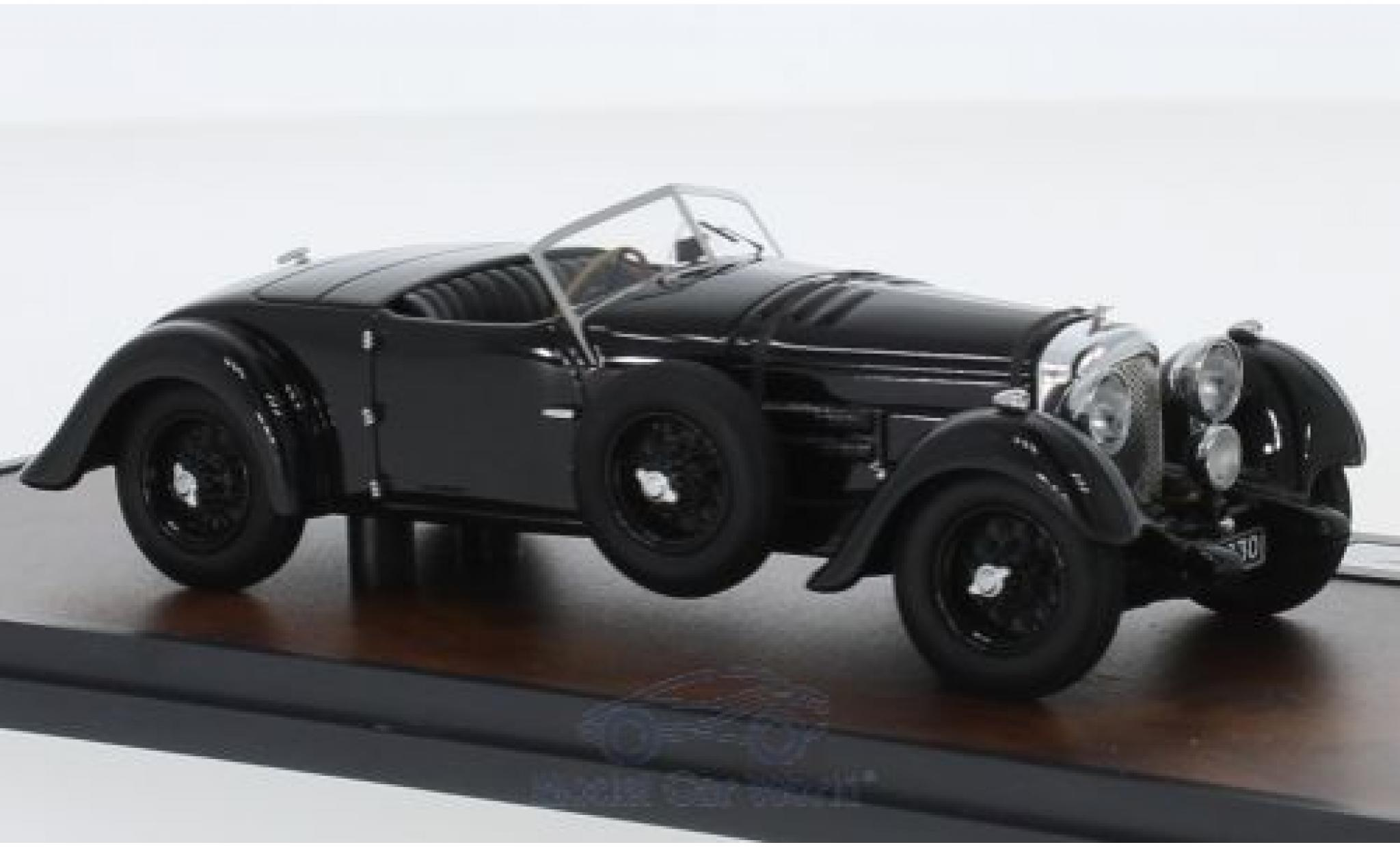 Bentley 8 1/43 Matrix Litre Roadster noire RHD 1932 Dottridge Brougehers YK5125