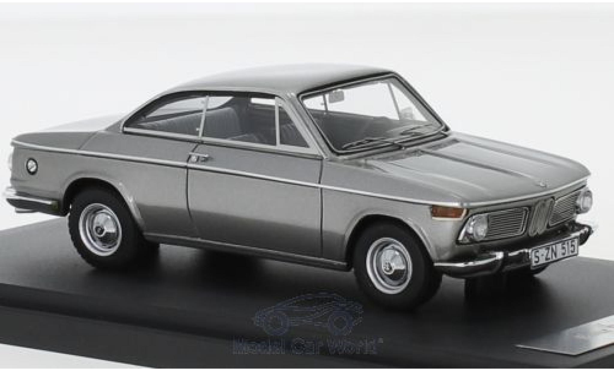Bmw 1600 1/43 Matrix -2 Baur Coupe grey 1967