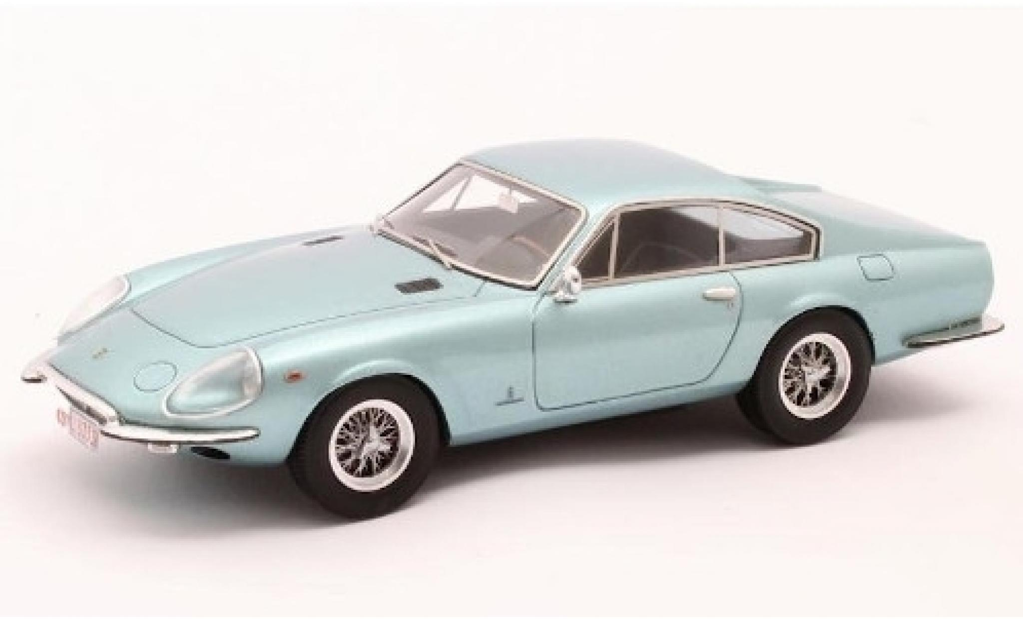 Ferrari 330 1/43 Matrix GTC Speciale Pininfarina metallise bleue 1967 Fahrgestell-Nr. 09439 - Prinzessin Liliane de Réthy