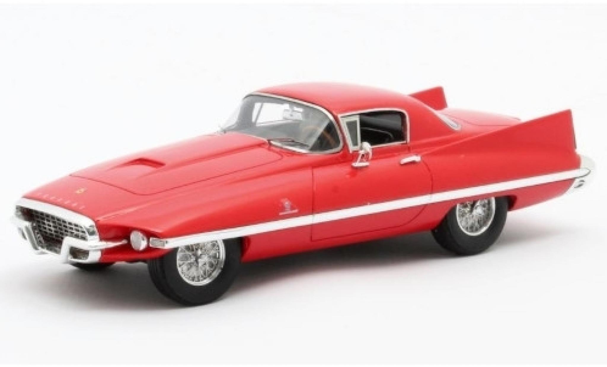 Ferrari 410 1/43 Matrix Superamerica Coupe Ghia red 1955 Fahrgestell-n° 0473SA