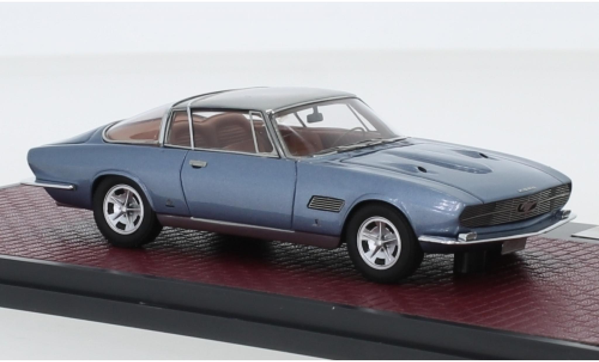 Ford Mustang 1/43 Matrix Bertone metallise bleue/grise 1965 Automobile Quarterly verdeckte Scheinwerfer