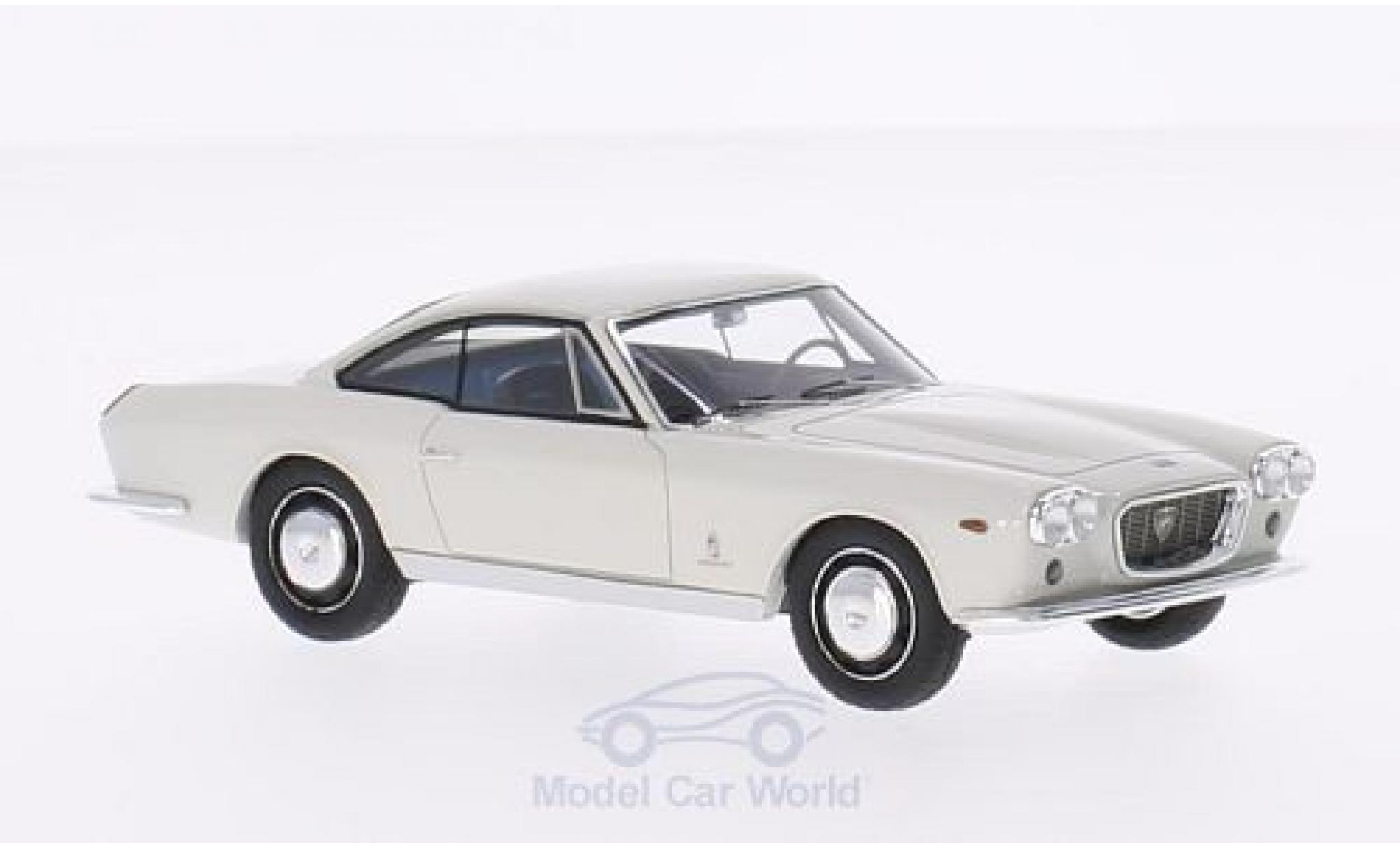 Lancia Flaminia 1/43 Matrix 3C 2.8 Speciale Pinifarina blanche 1963