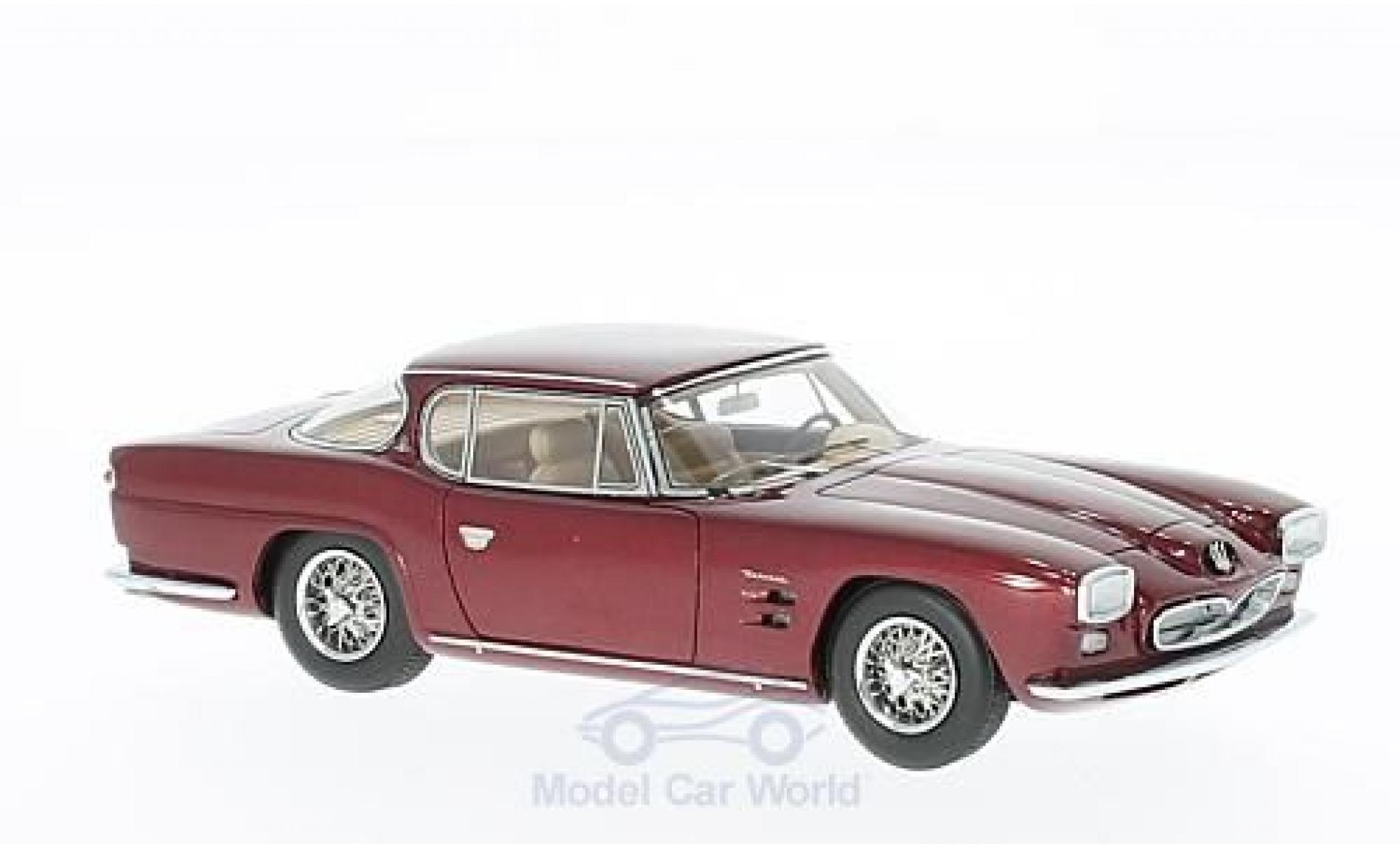 Maserati 5000 GT 1/43 Matrix Frua Coupe metallise rouge 1963