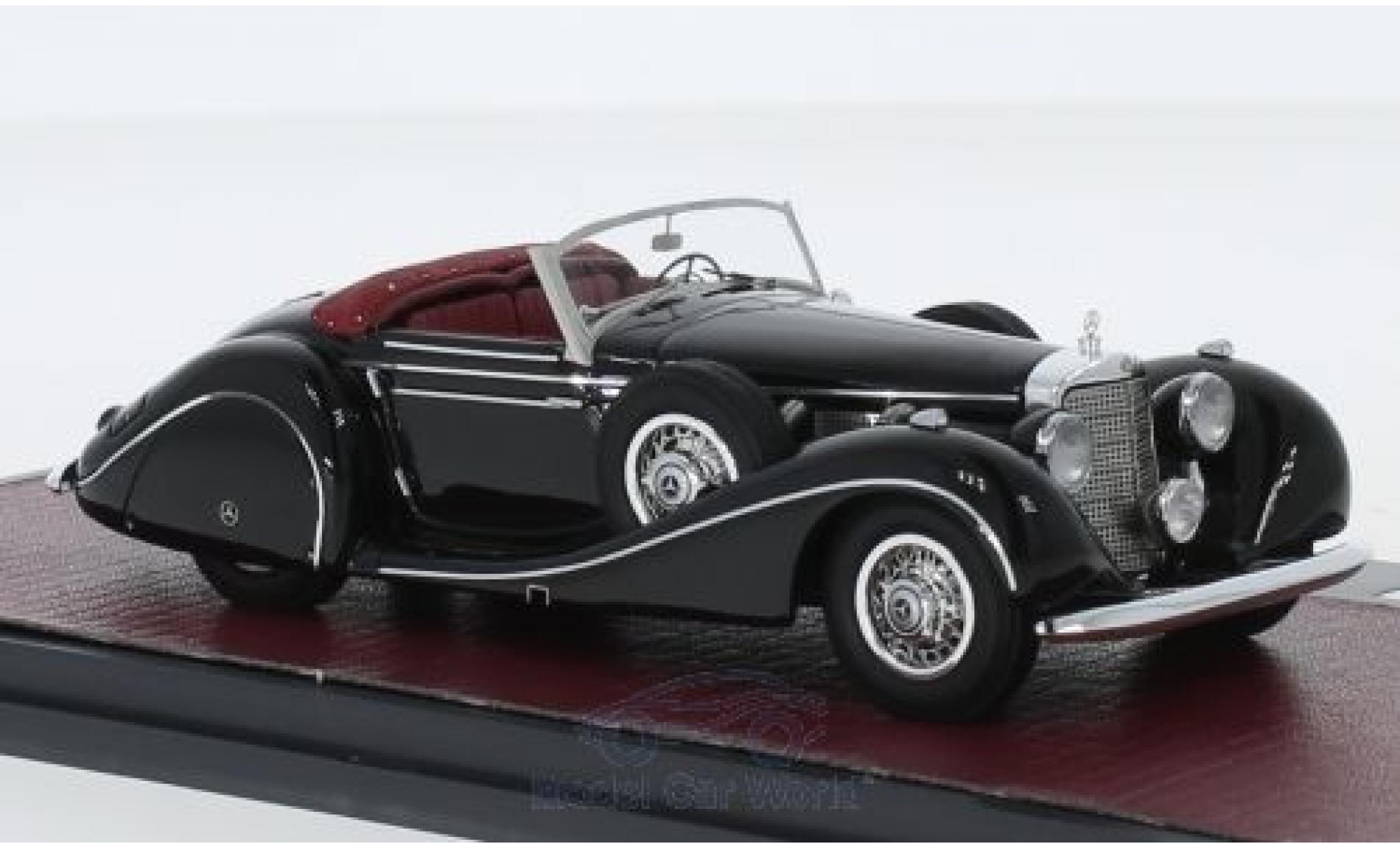 Mercedes 540 1/43 Matrix K Spezialroadster Sindelfingen noire 1939