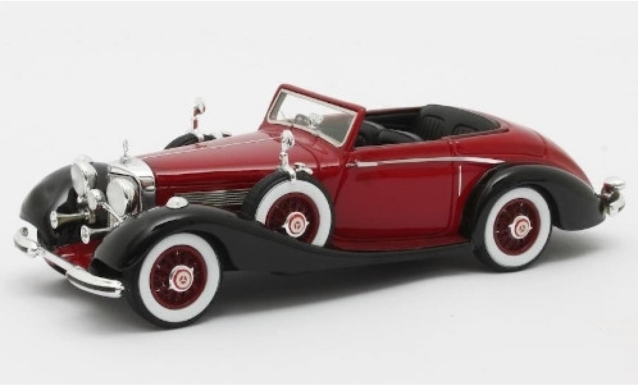 Mercedes 540 1/43 Matrix K Roadster Lancefield rouge/noire RHD 1938 No.169317