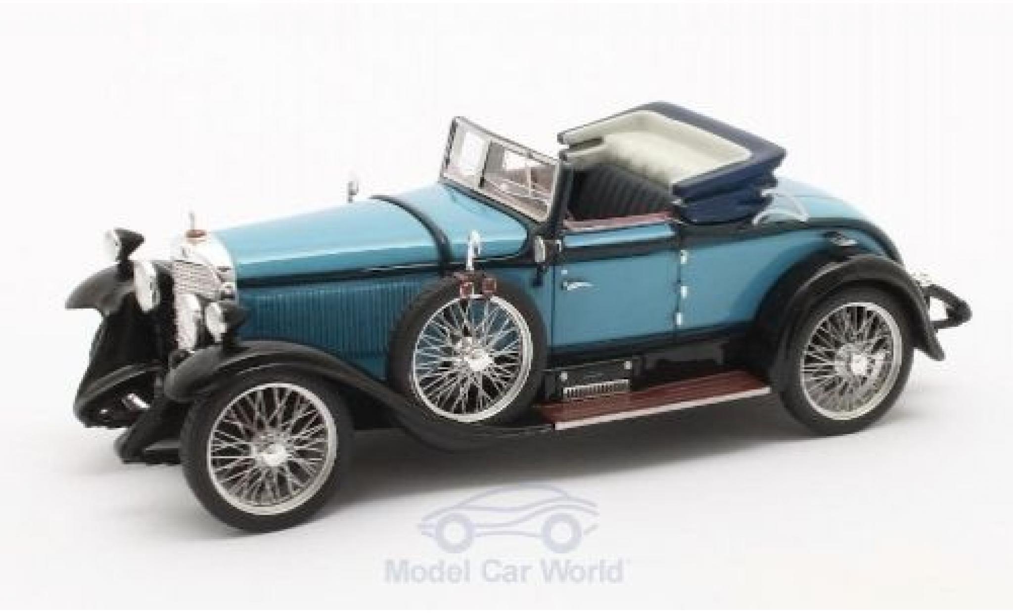 Mercedes Classe S 1/43 Matrix 630K Sport Cabriolet Hibbard & Darrin bleue/noire 1927 #38182