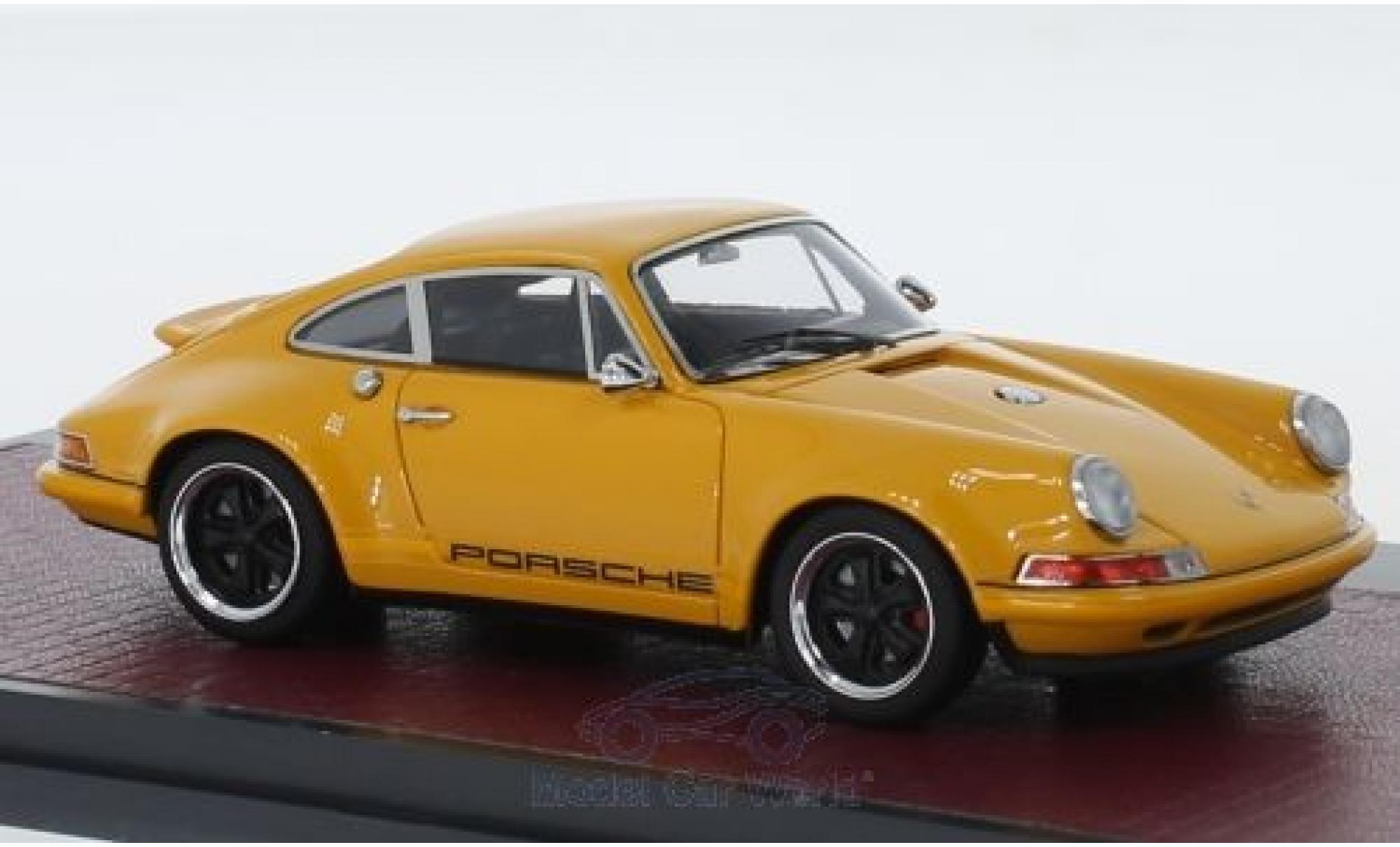 Porsche 991 1/43 Matrix 911 Singer Design orange 2014